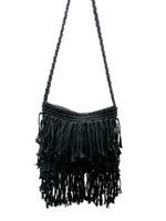 The Fringed Macrame Bag