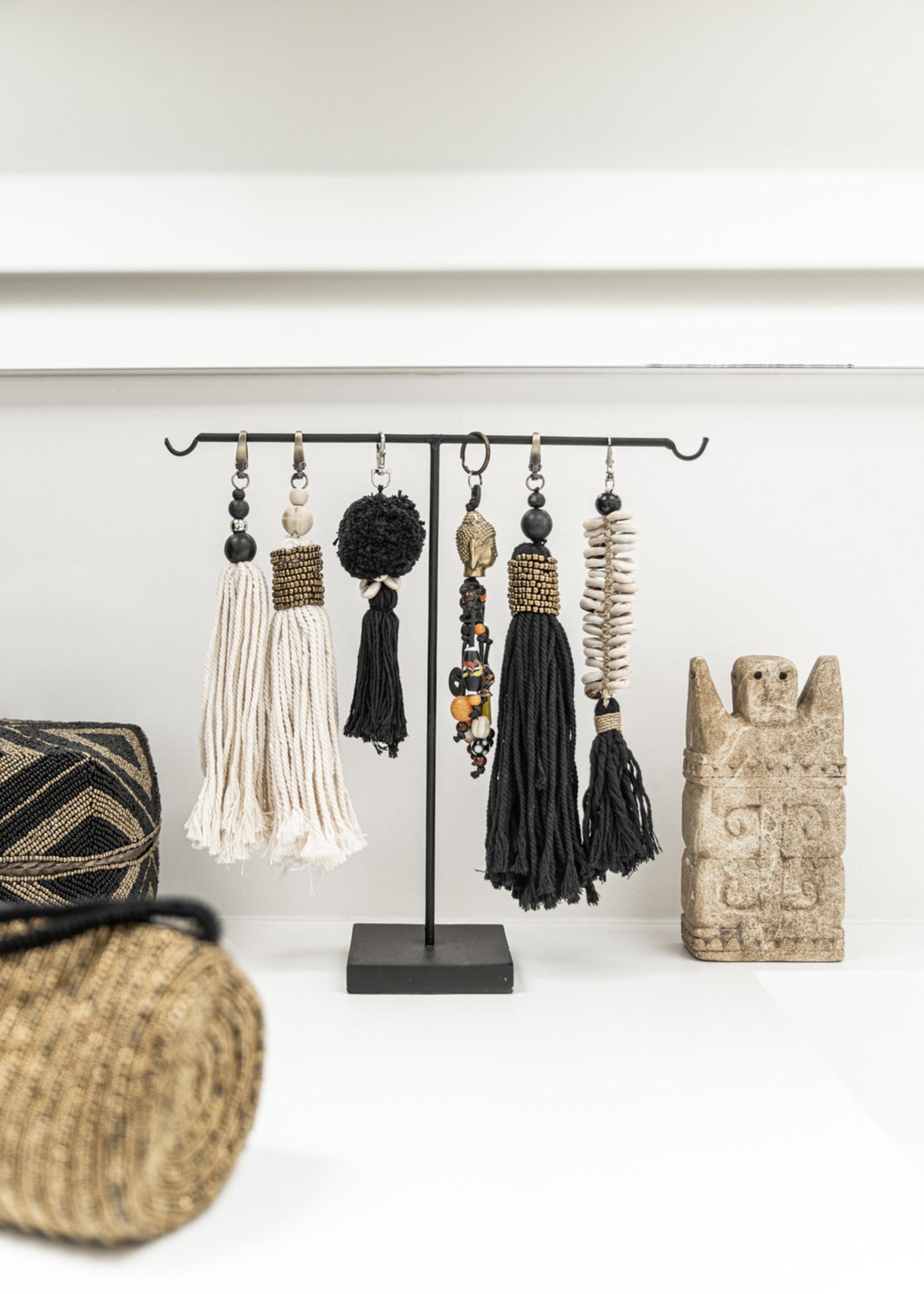 The Boho Chic Keychain - Black