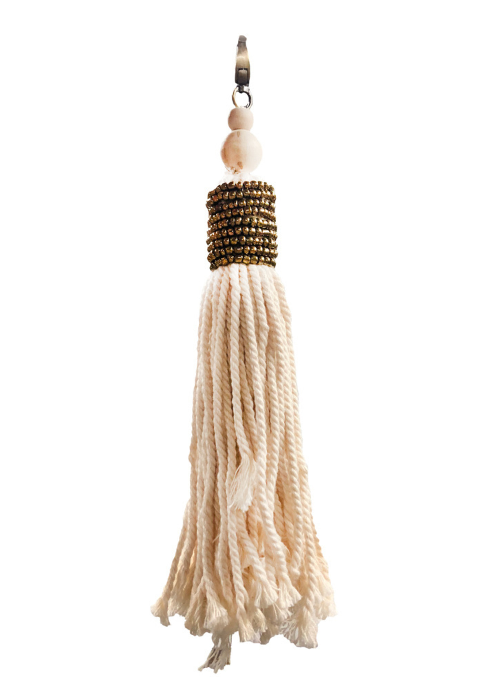 The Boho Chic Keychain - Natural