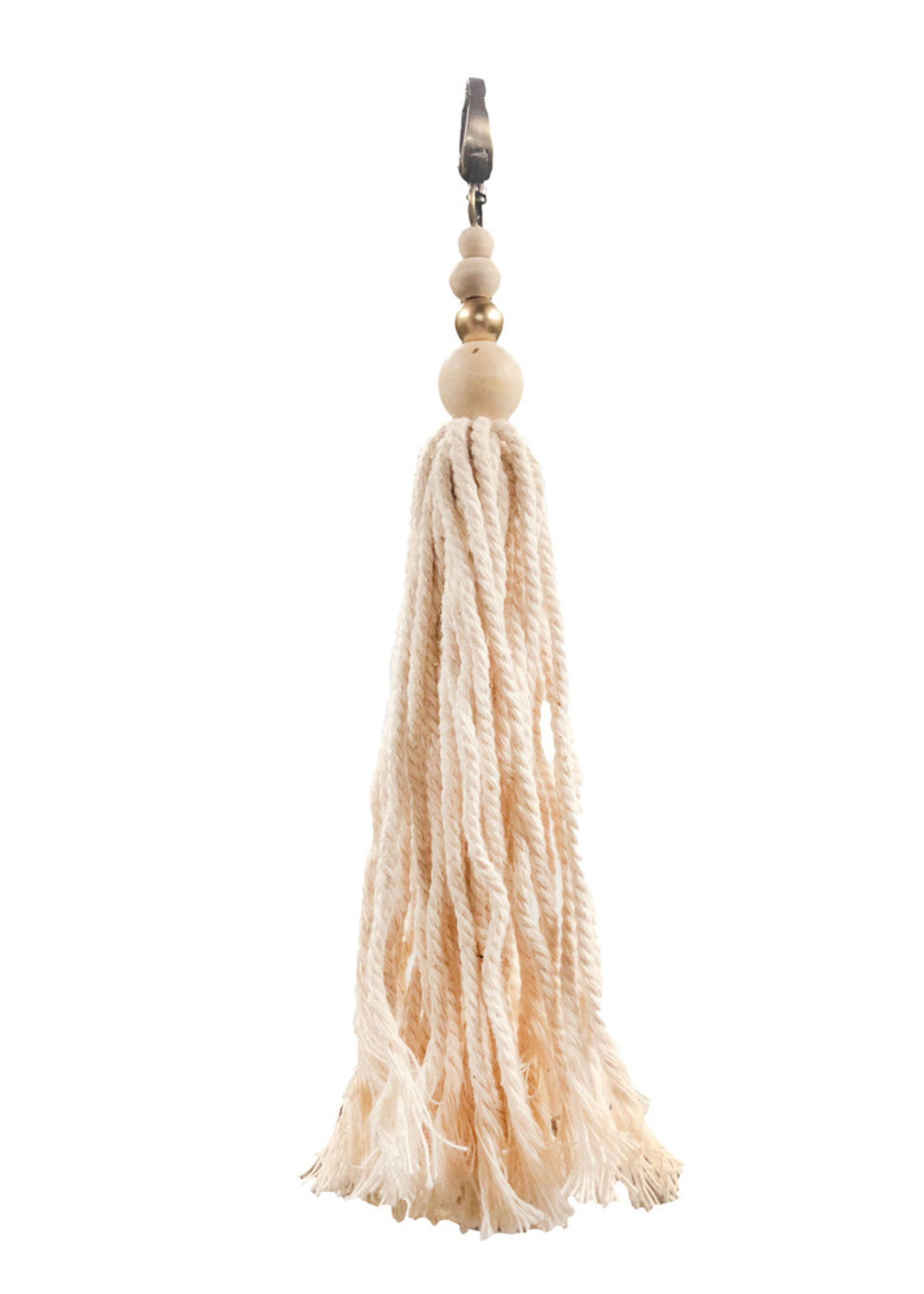 The Cotton Wood Keychain - Natural