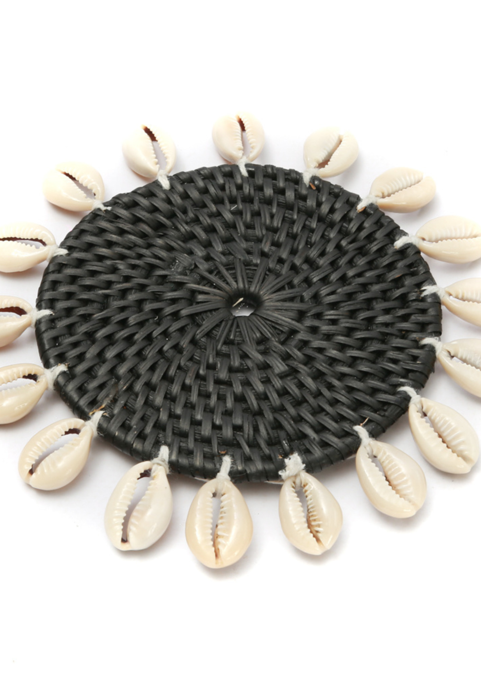The Cowrie Coaster - Black