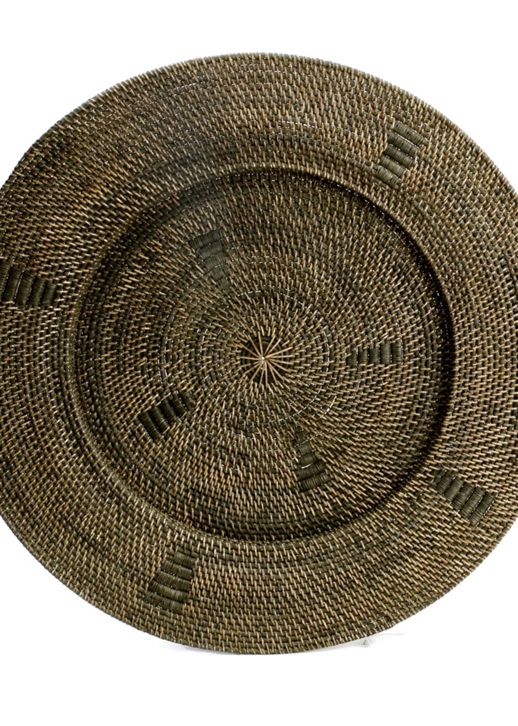 The Jasmine Plate - Brown - L