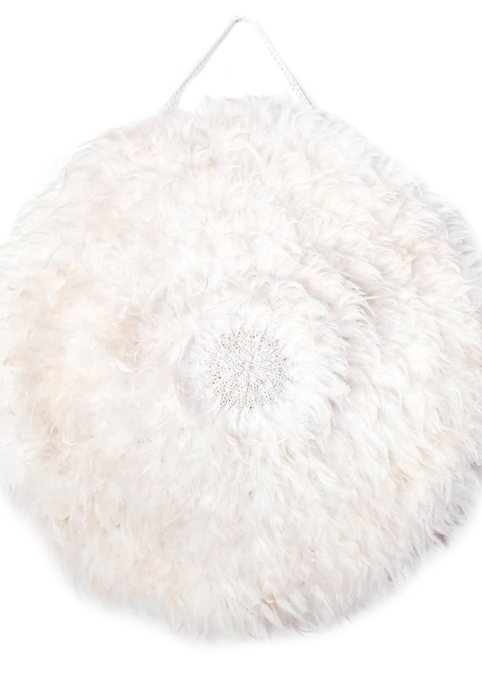 The Fluffy Juju - White -XXL
