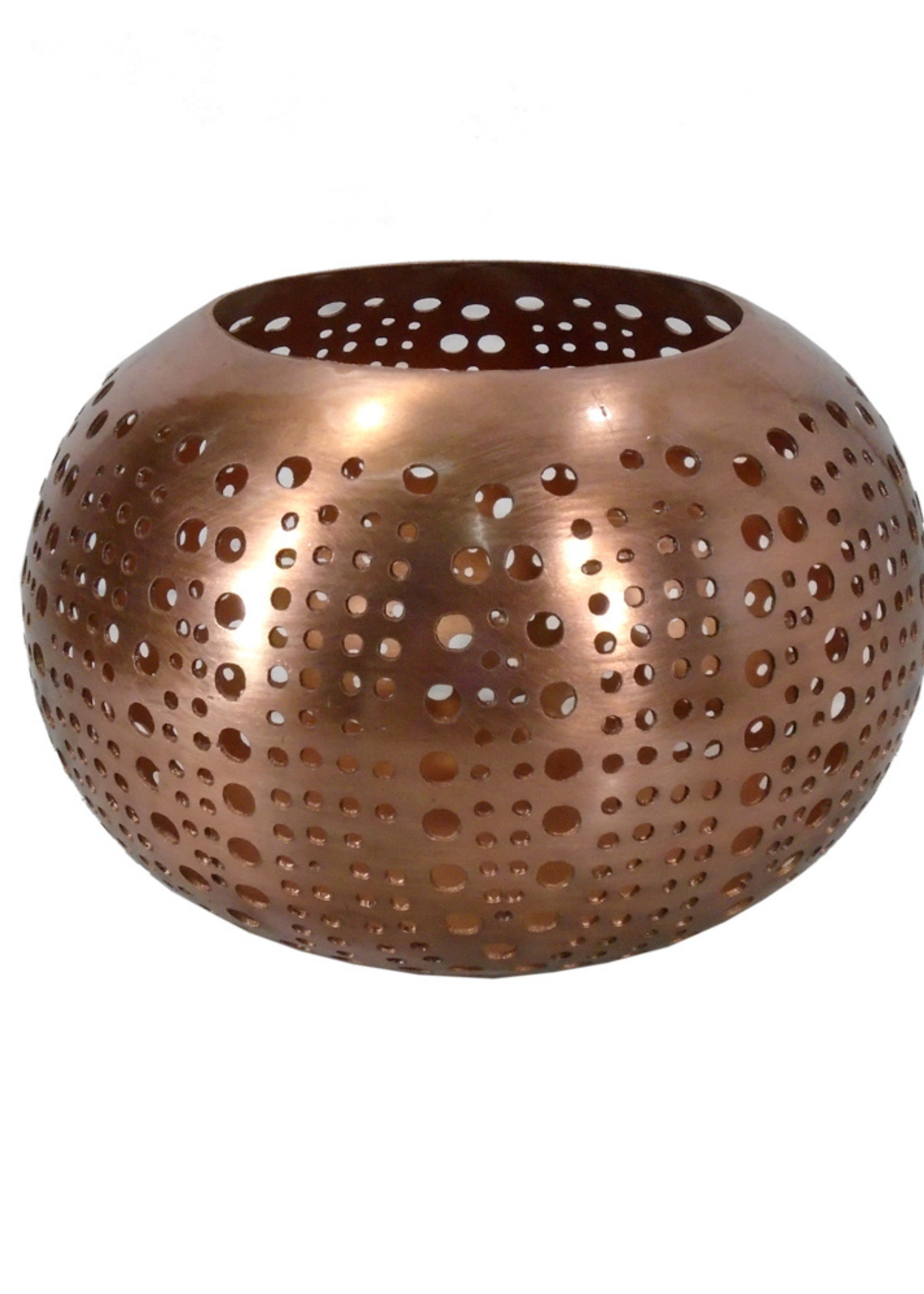 The Double Circle Sphere - Copper - M