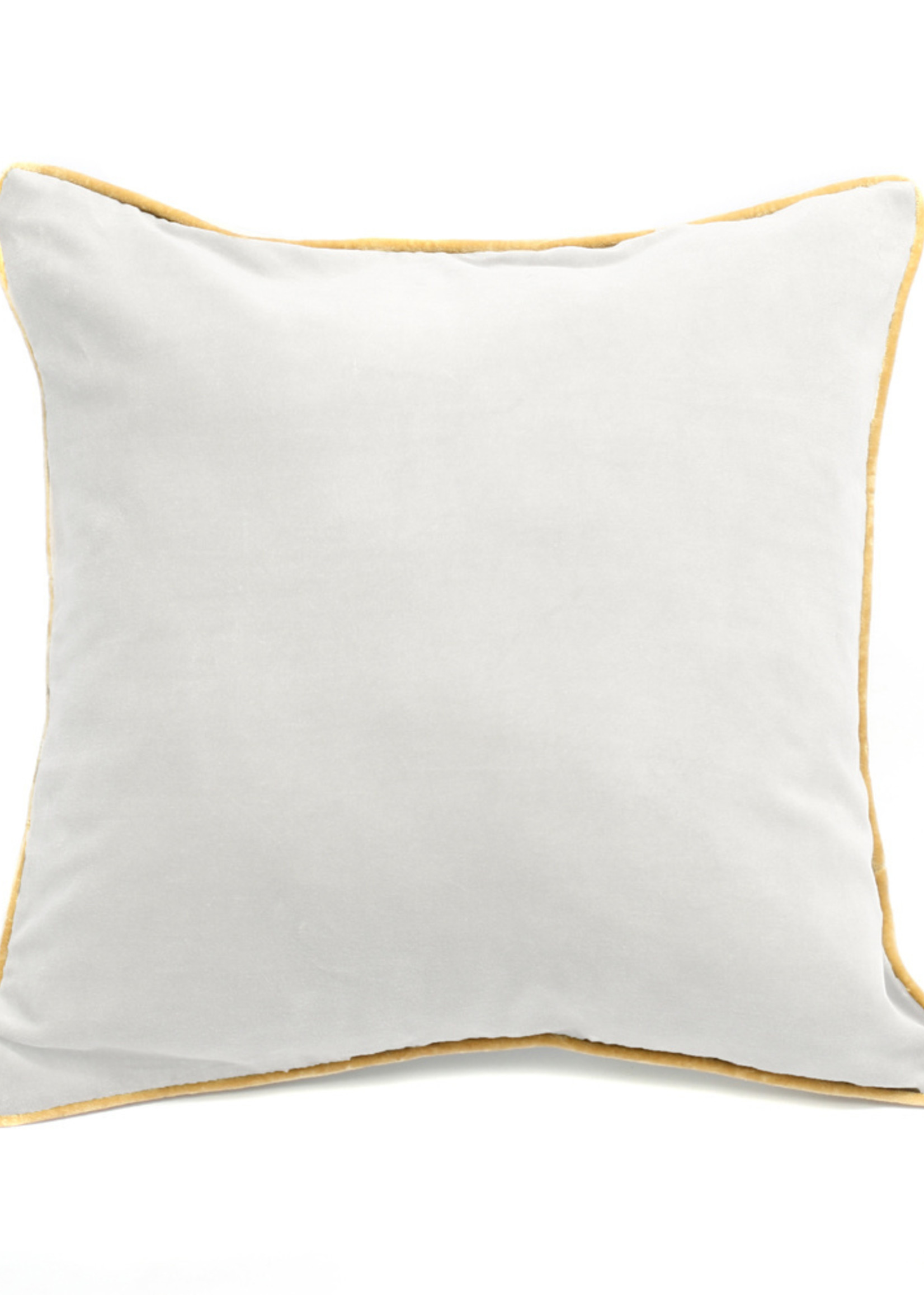 The Velvet Cushion - White