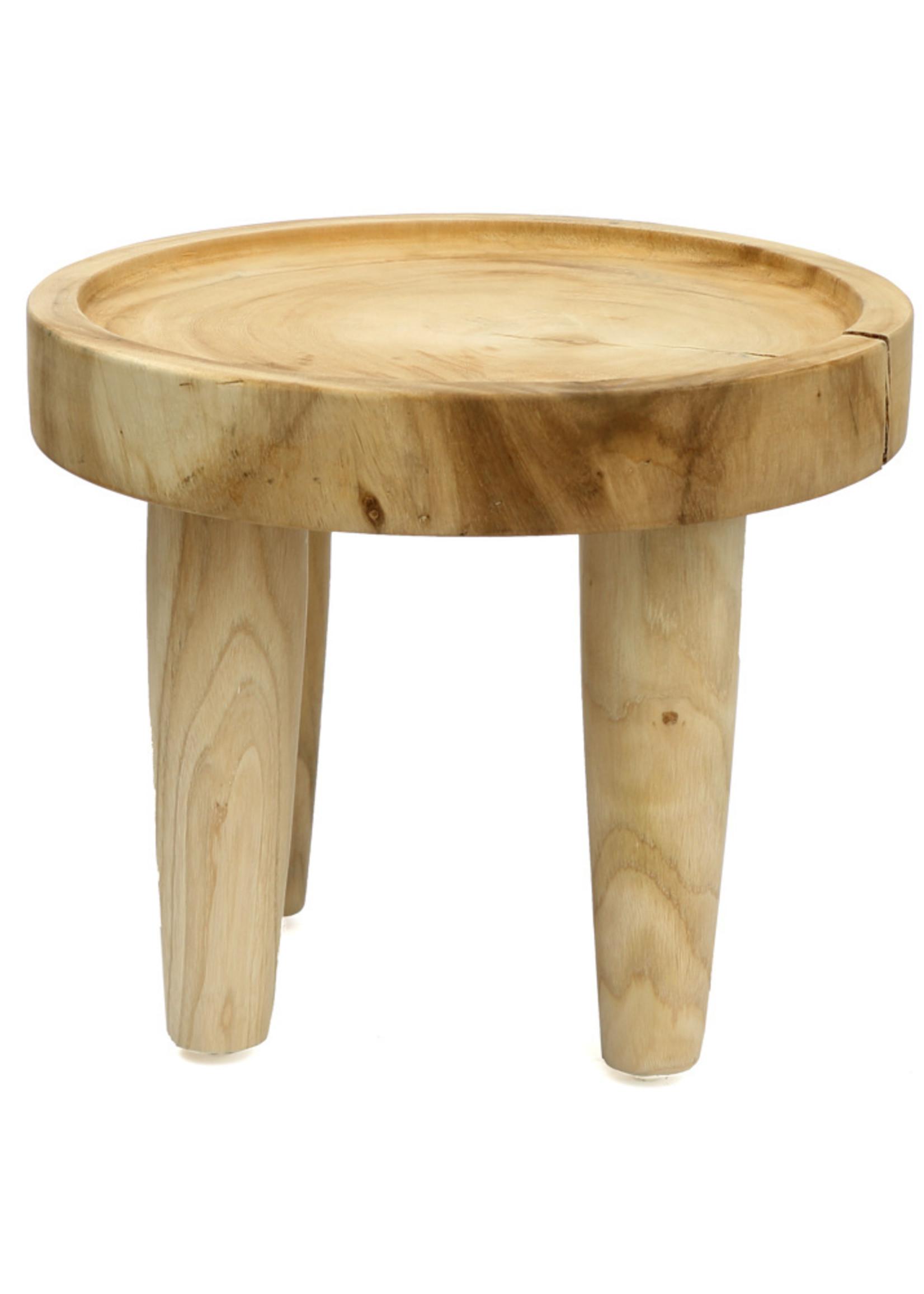 The Samanea Side Table - Natural