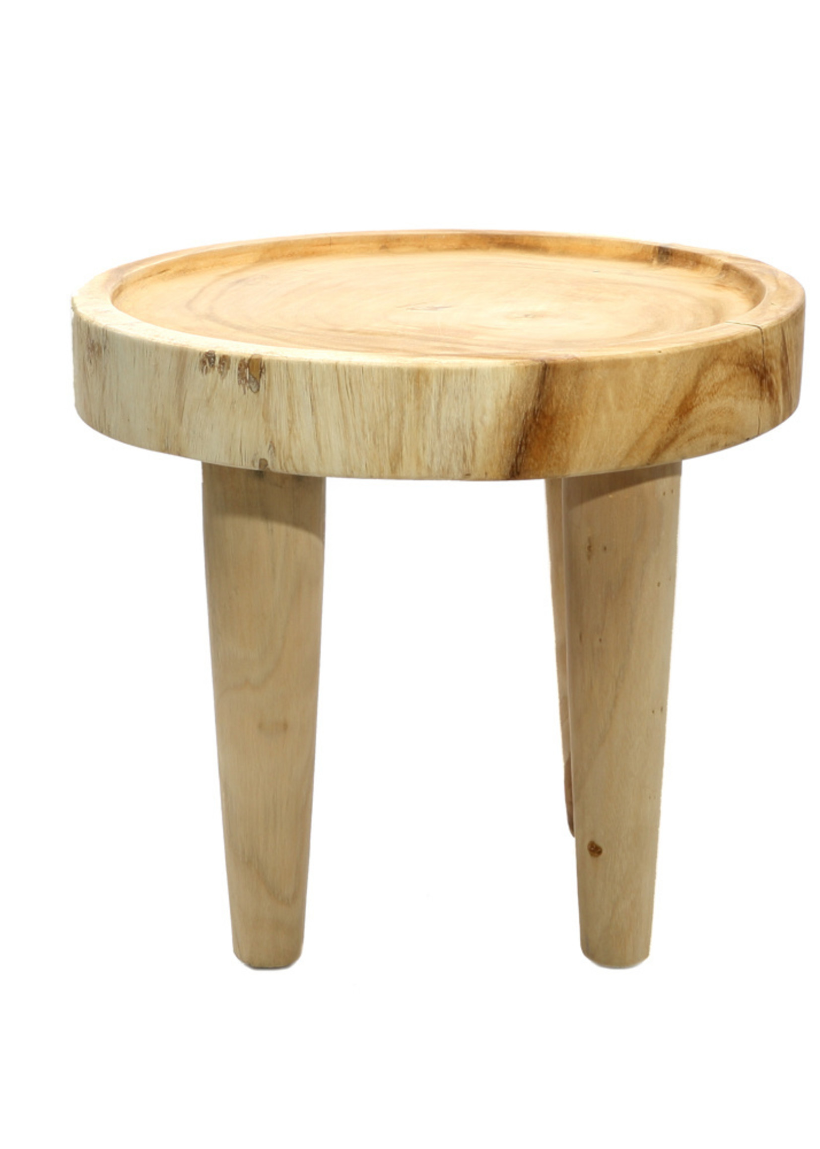 The Suar Side Table - Natural