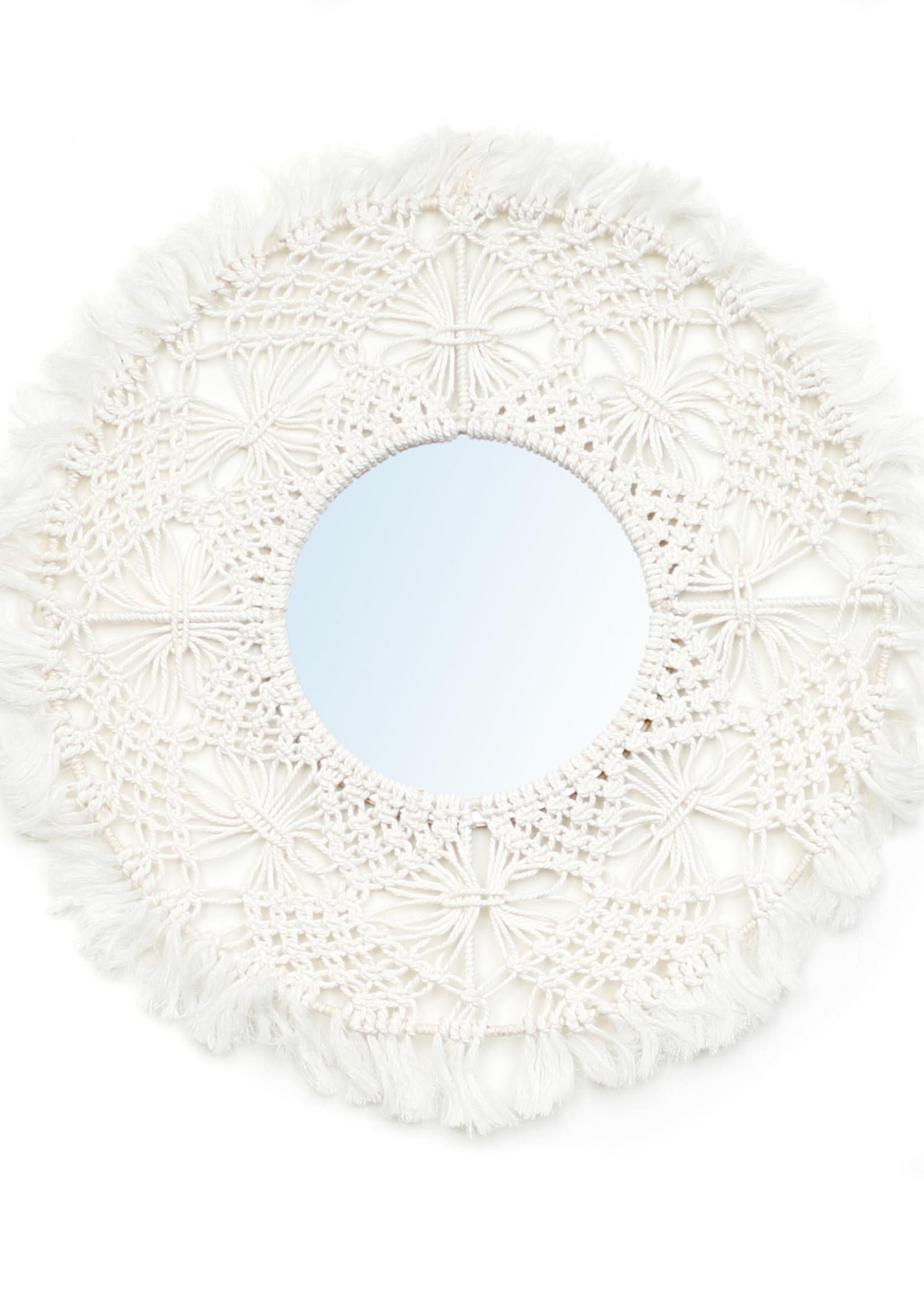 The Aruba Mirror - White - M