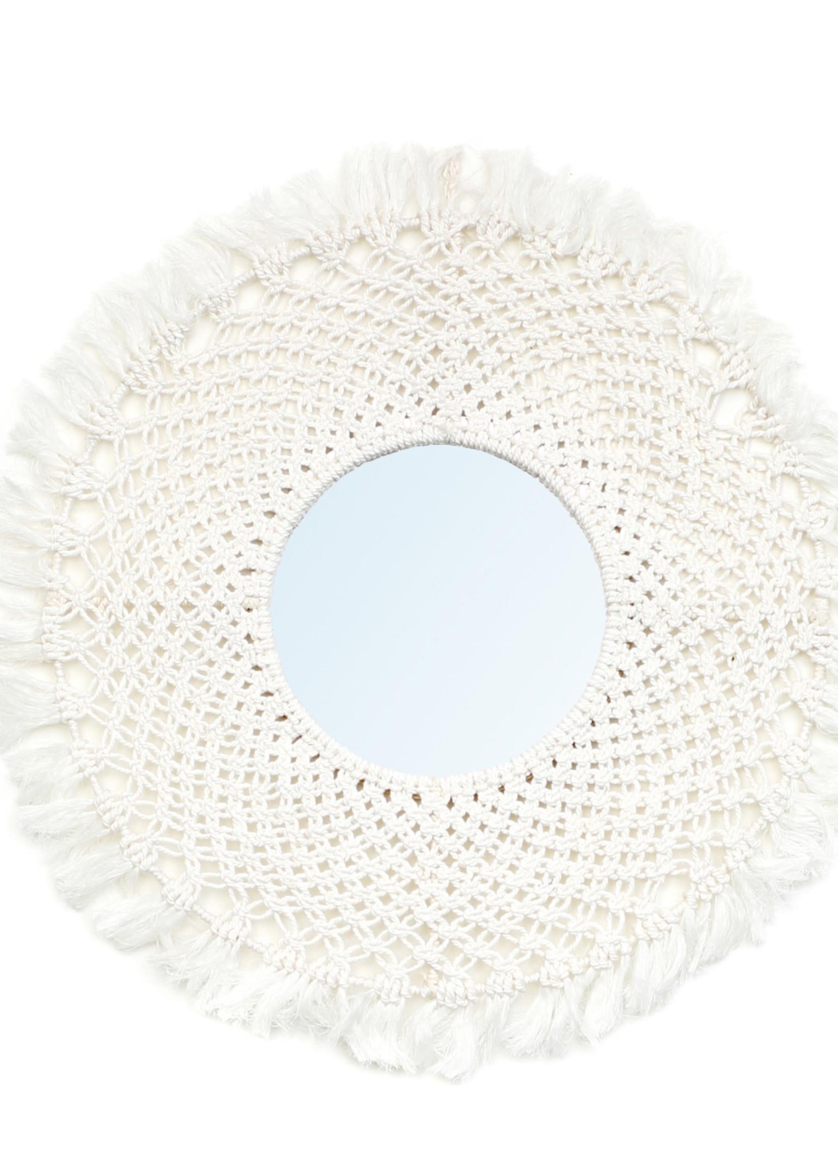 The Barbados Mirror - White - M