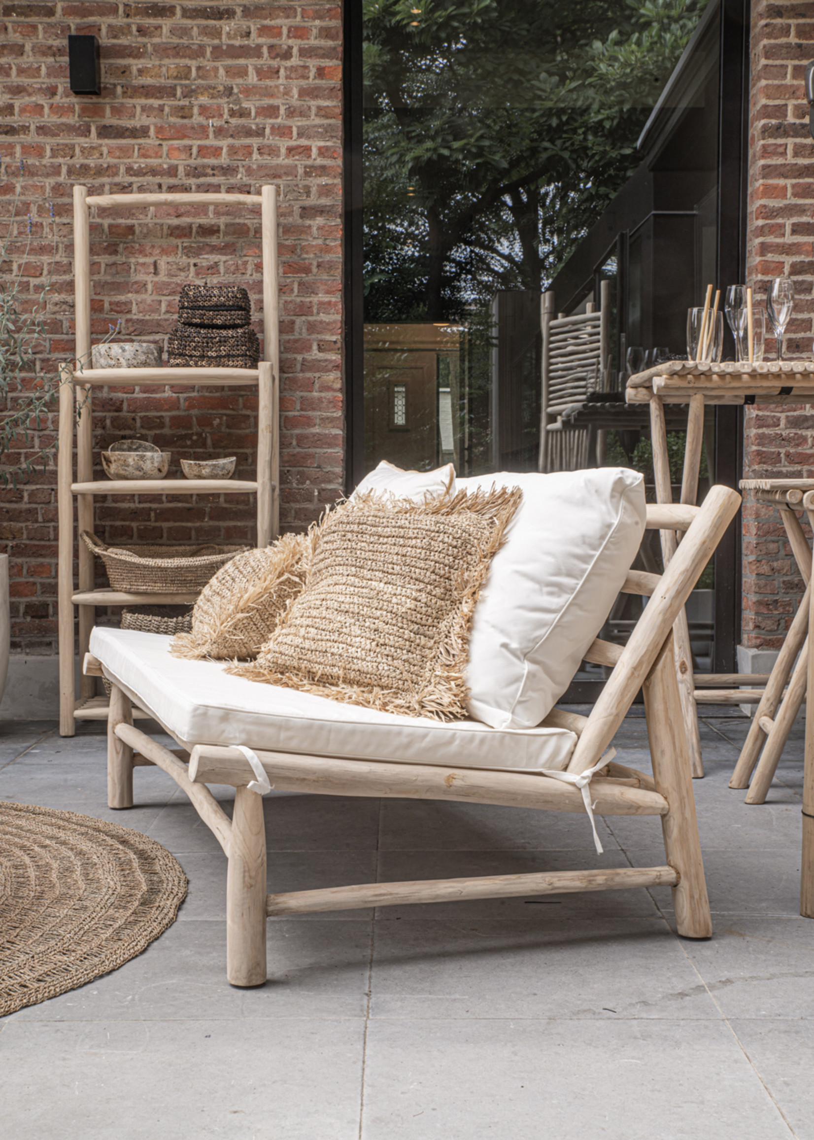 The Island Two Seater - Natural White