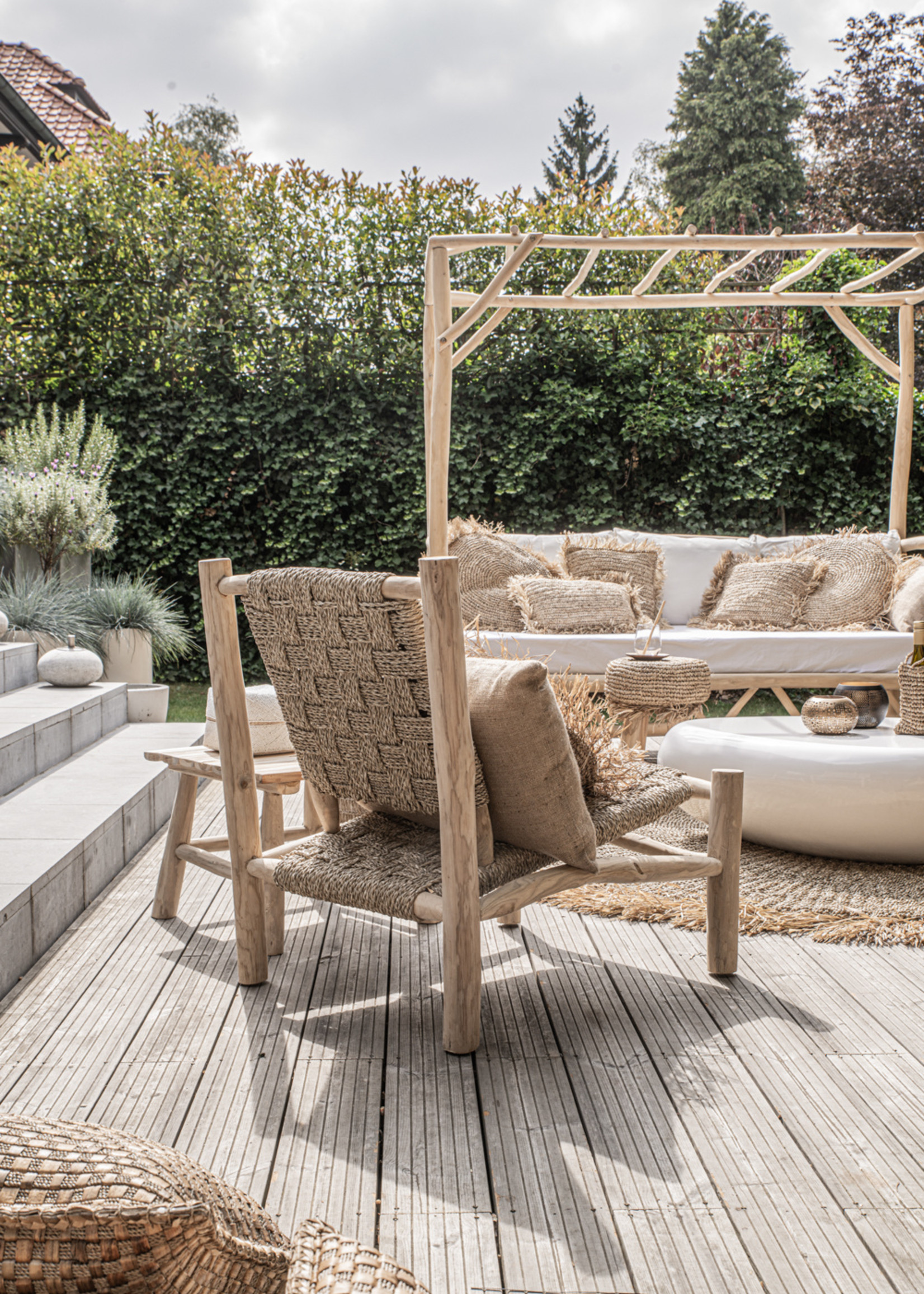 The Seagrass One Seater - Natural