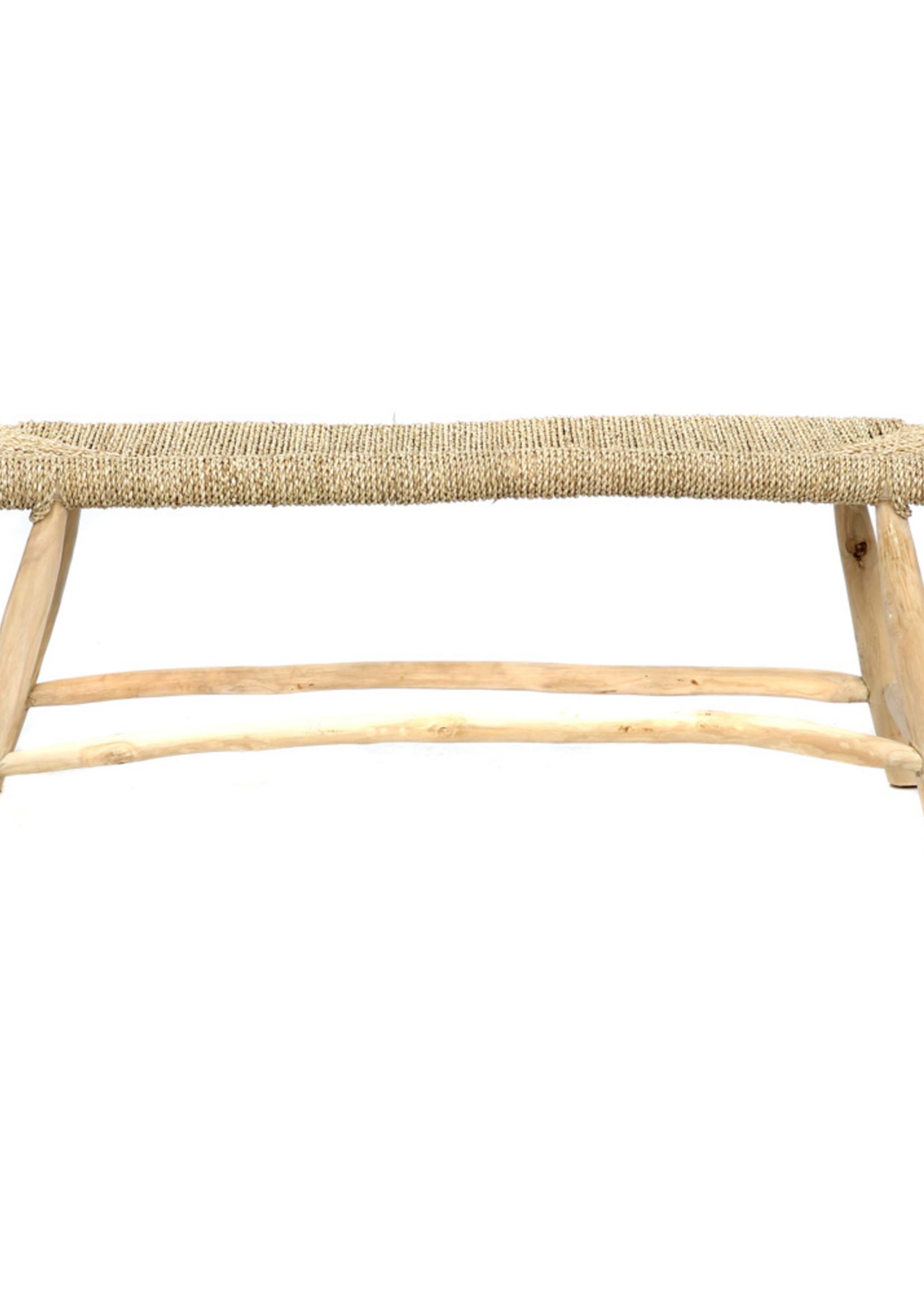 The Porto Seagrass Bench - Natural - L