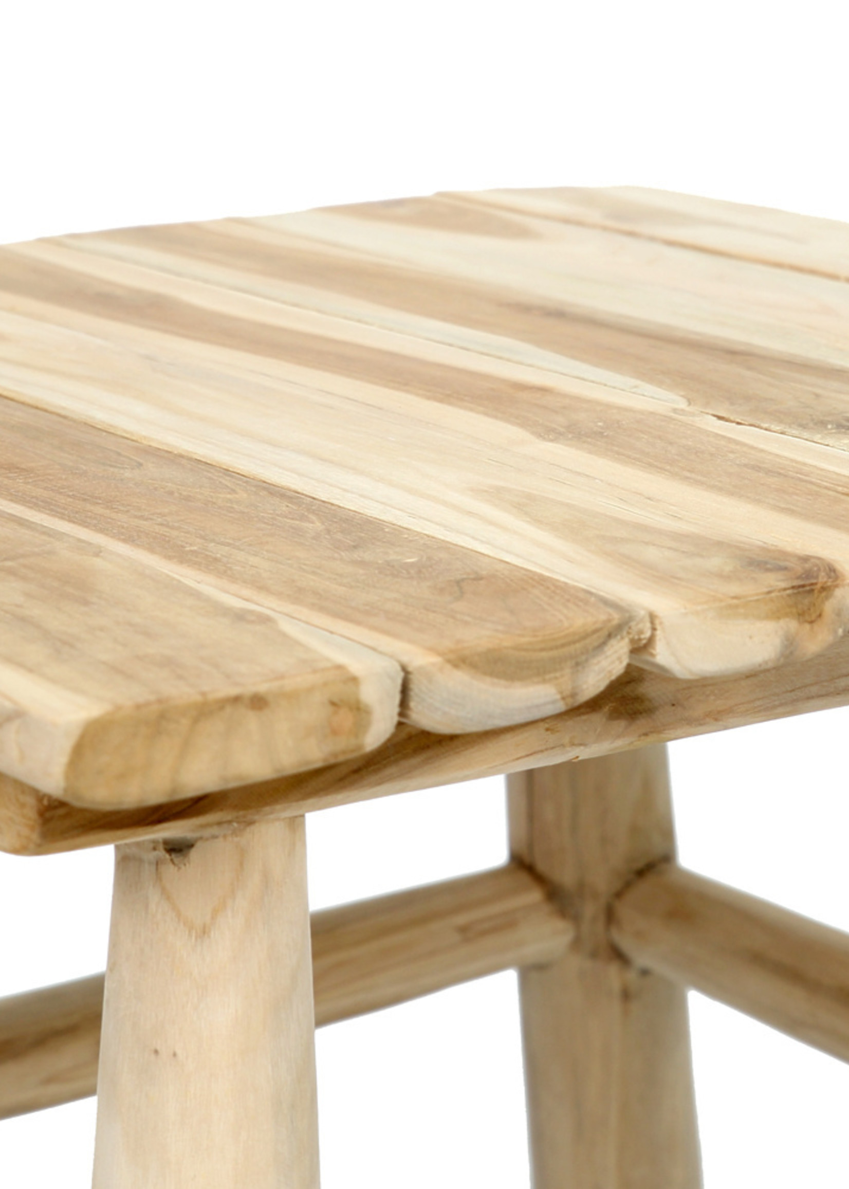 The Island Side Table - Natural