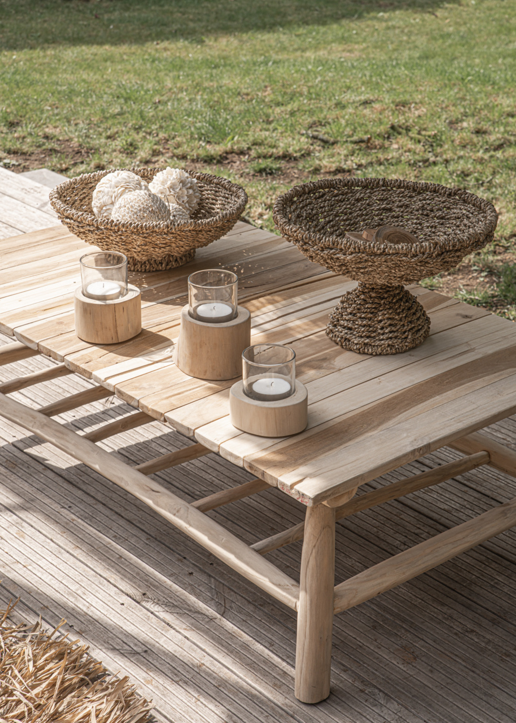 The Island Coffee Table - Natural