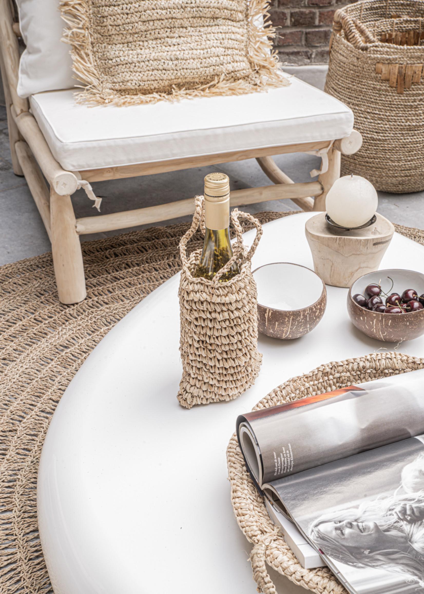 The Raffia Basket Trays - Natural - SET3