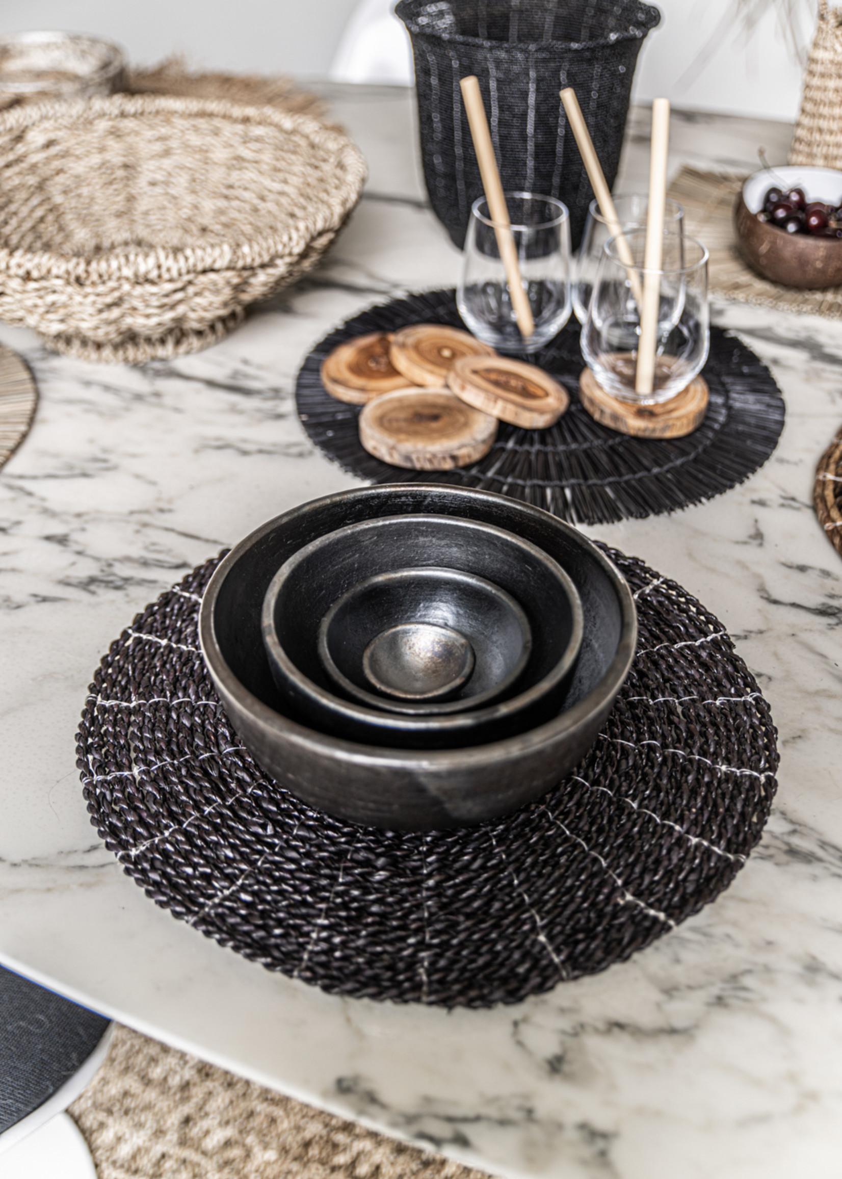 The Burned Bowl - Black - L