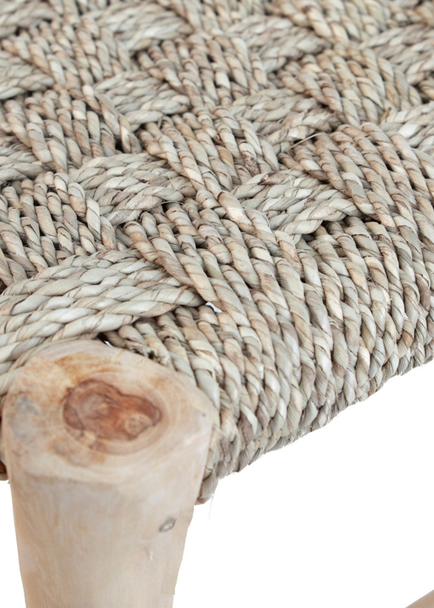 The Souk Seagrass Stool - Natural
