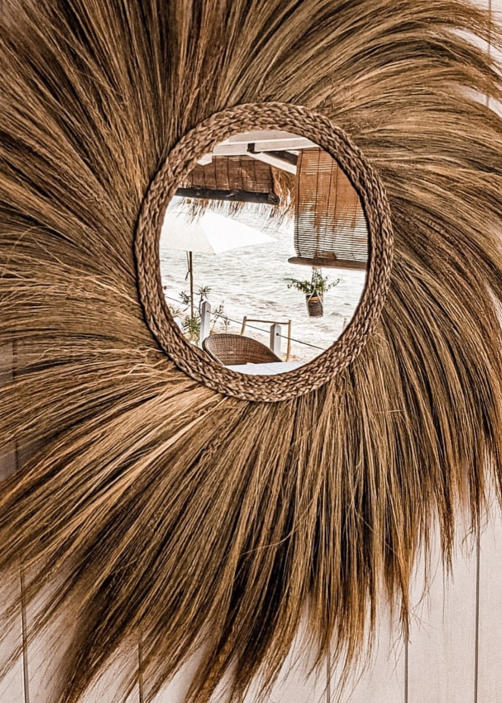 The Simba Mirror - Natural - L