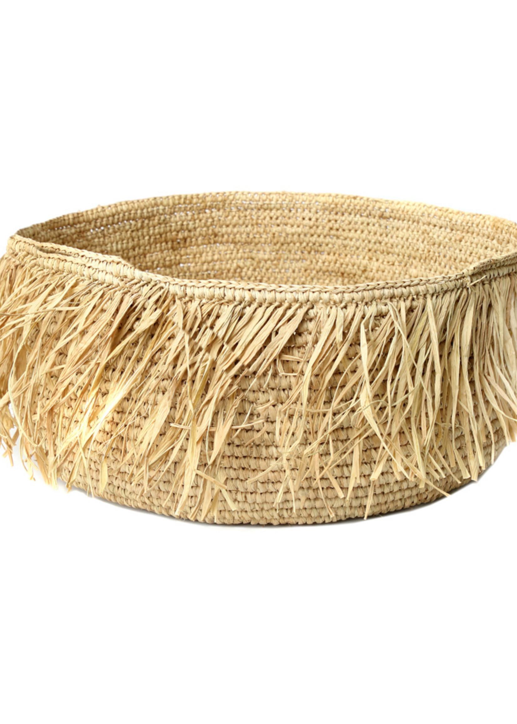 The Raffia Bowl - Natural - L