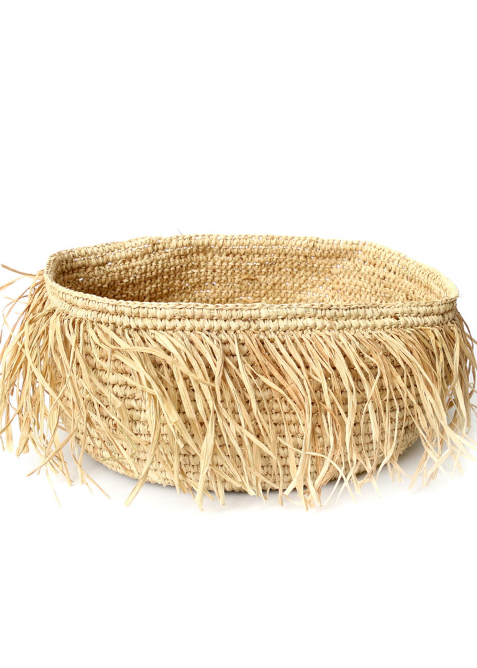 The Raffia Bowl - Natural - M