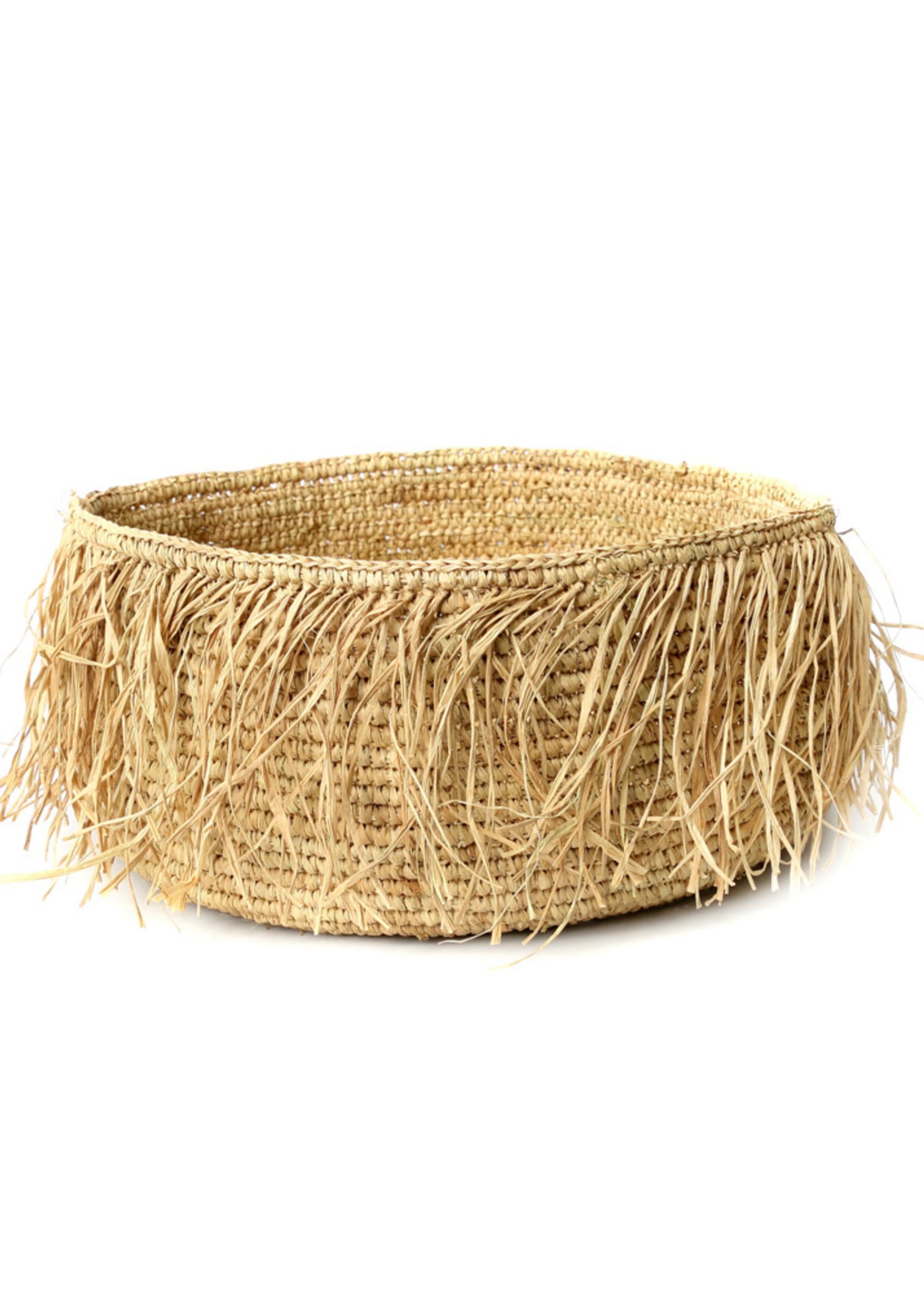 The Raffia Bowl - Natural - S