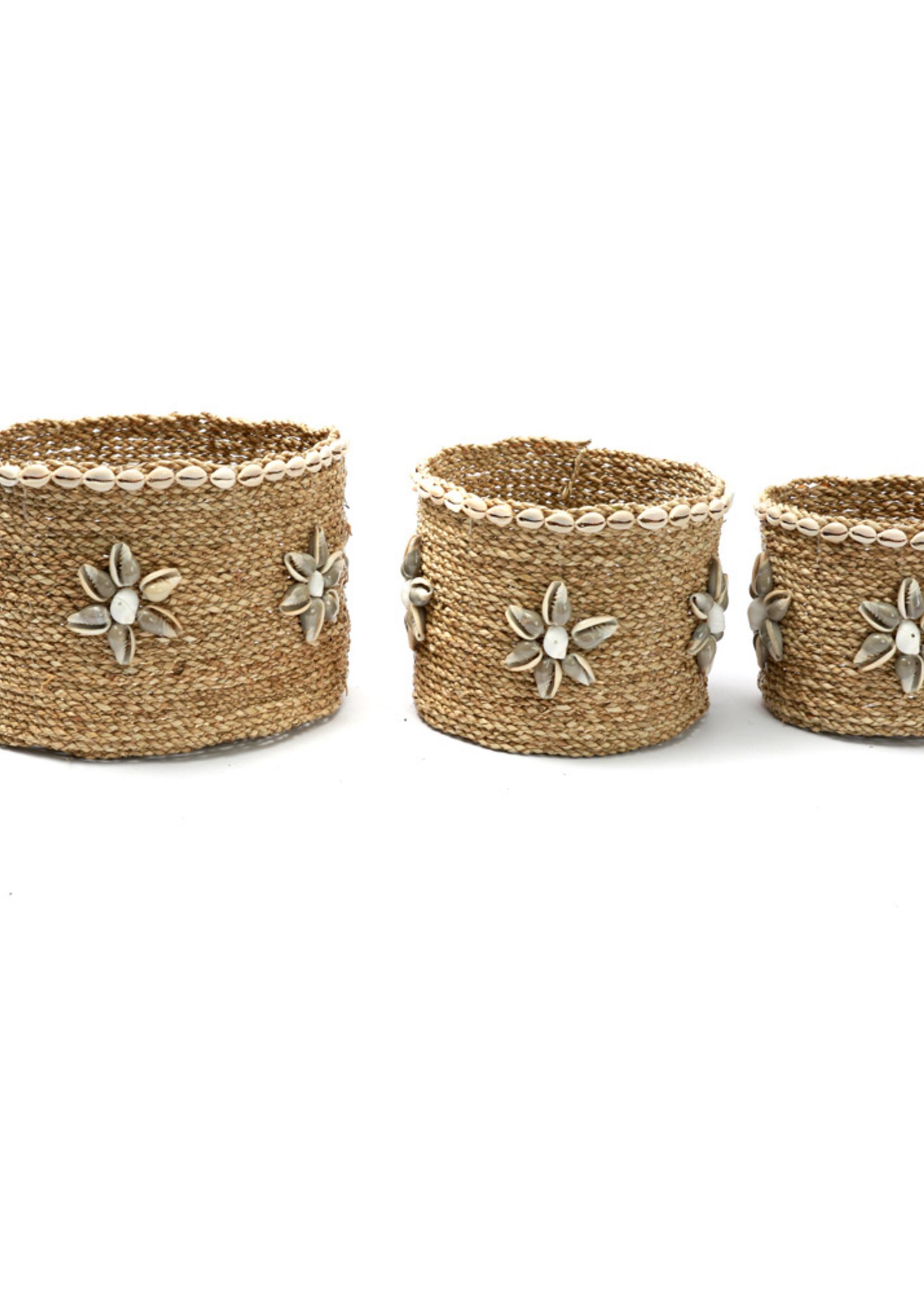 The Beach View Baskets - Natural - SET3