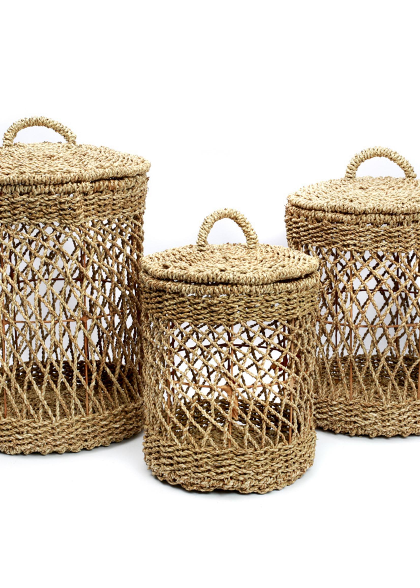 The Laundry Basket - Natural - SET3