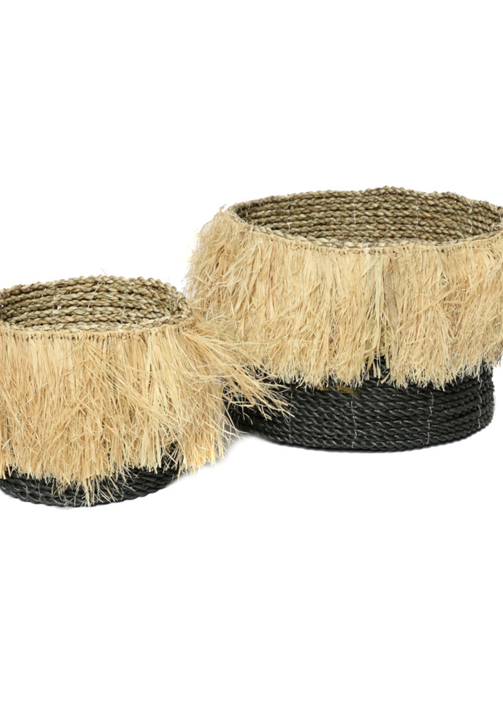 The Aloha Baskets - Black Natural - SET3