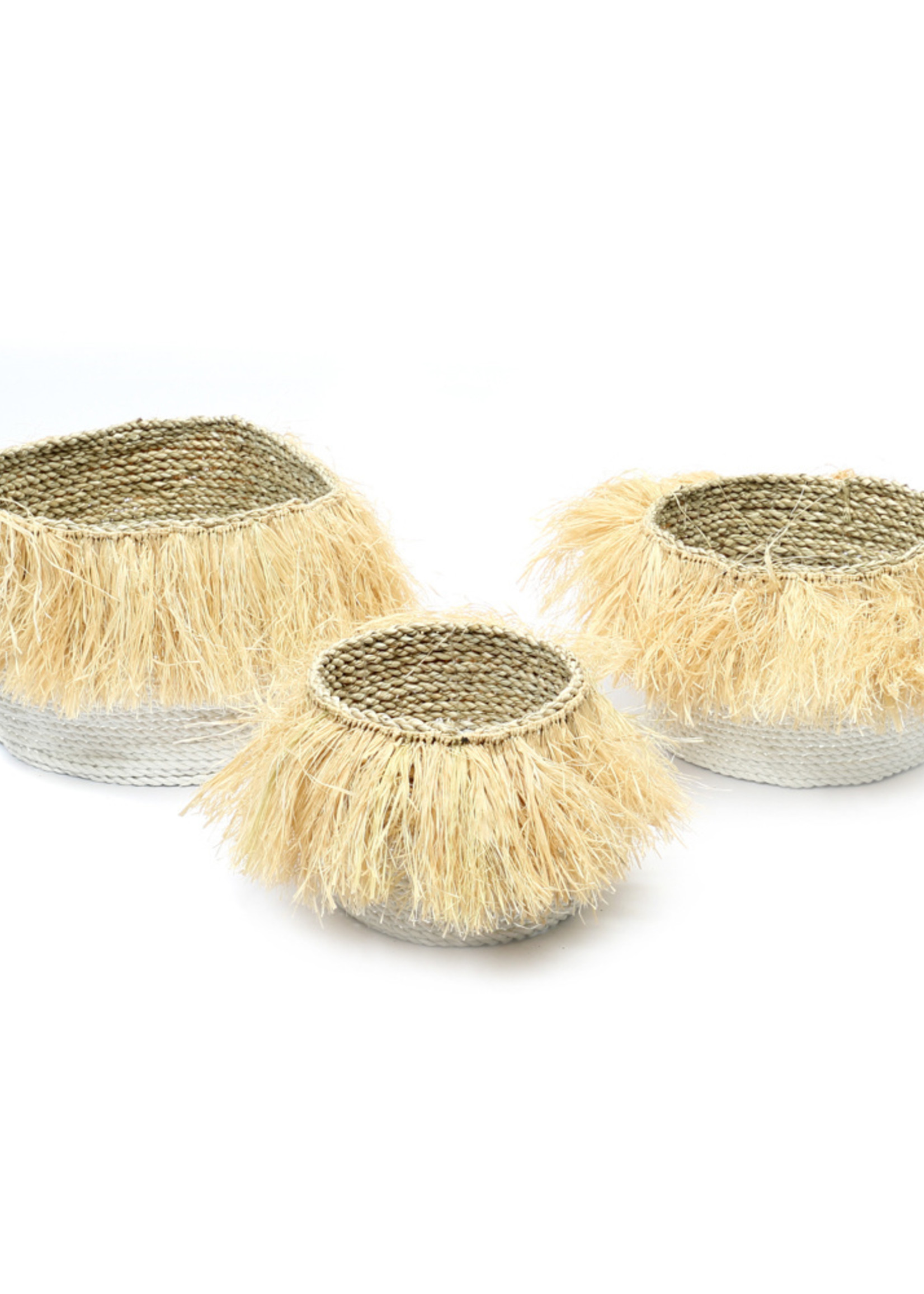 The Aloha Baskets - White Natural - SET3