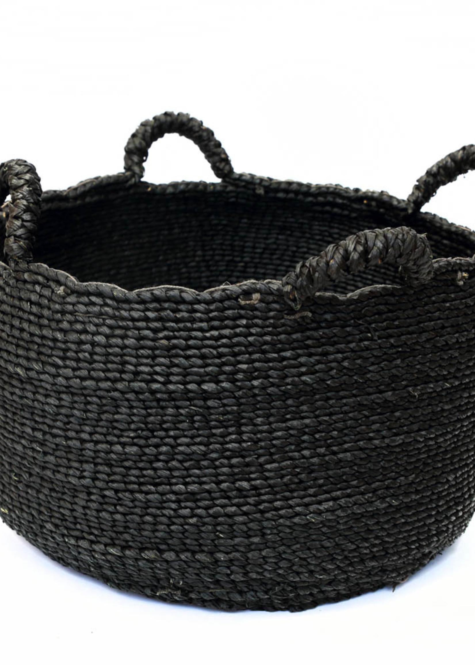 Les Quatre Mains Baskets - Black - L