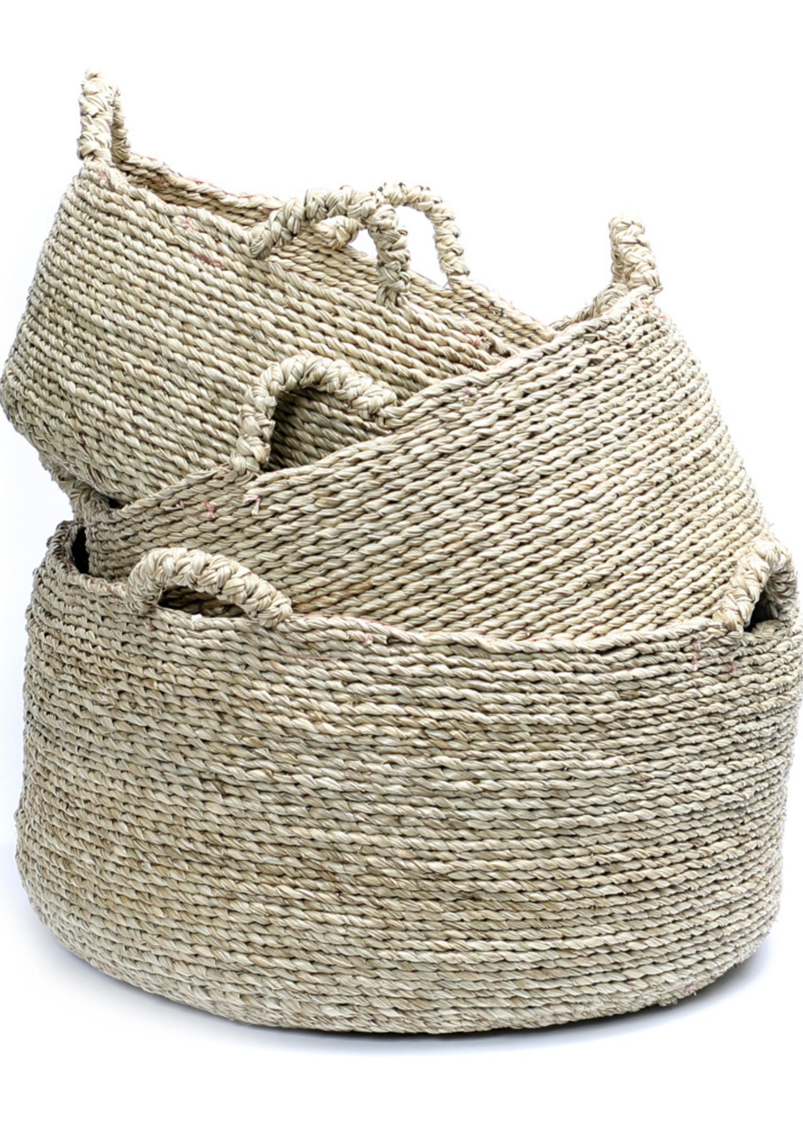 Les Quatre Mains Baskets - Natural - SET3