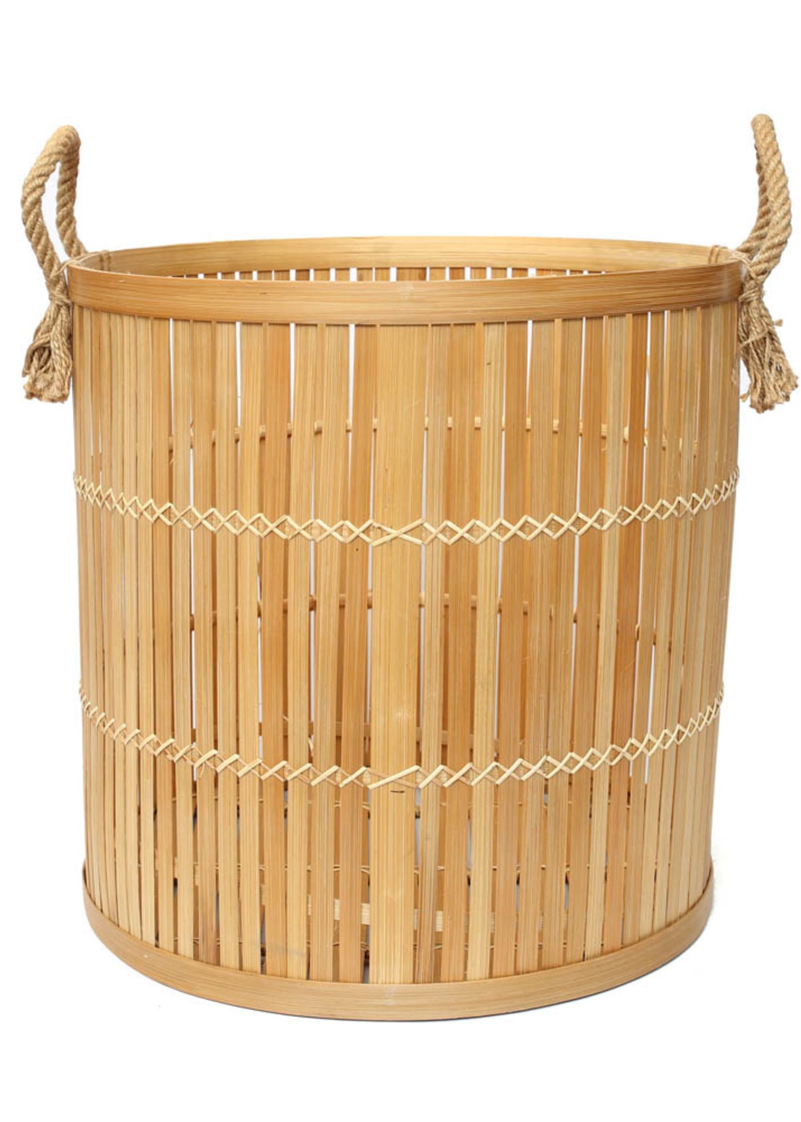 The Bamboo Baskets - Natural - Large