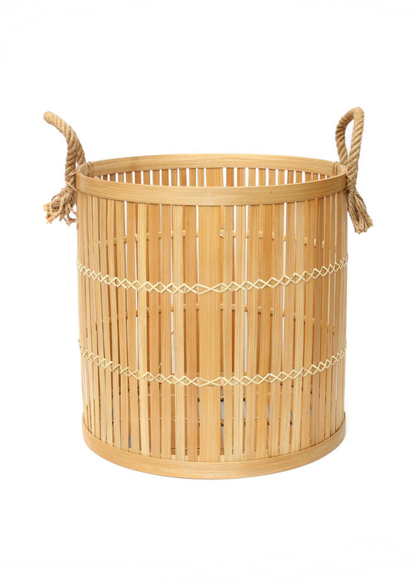 The Bamboo Baskets - Natural - Medium