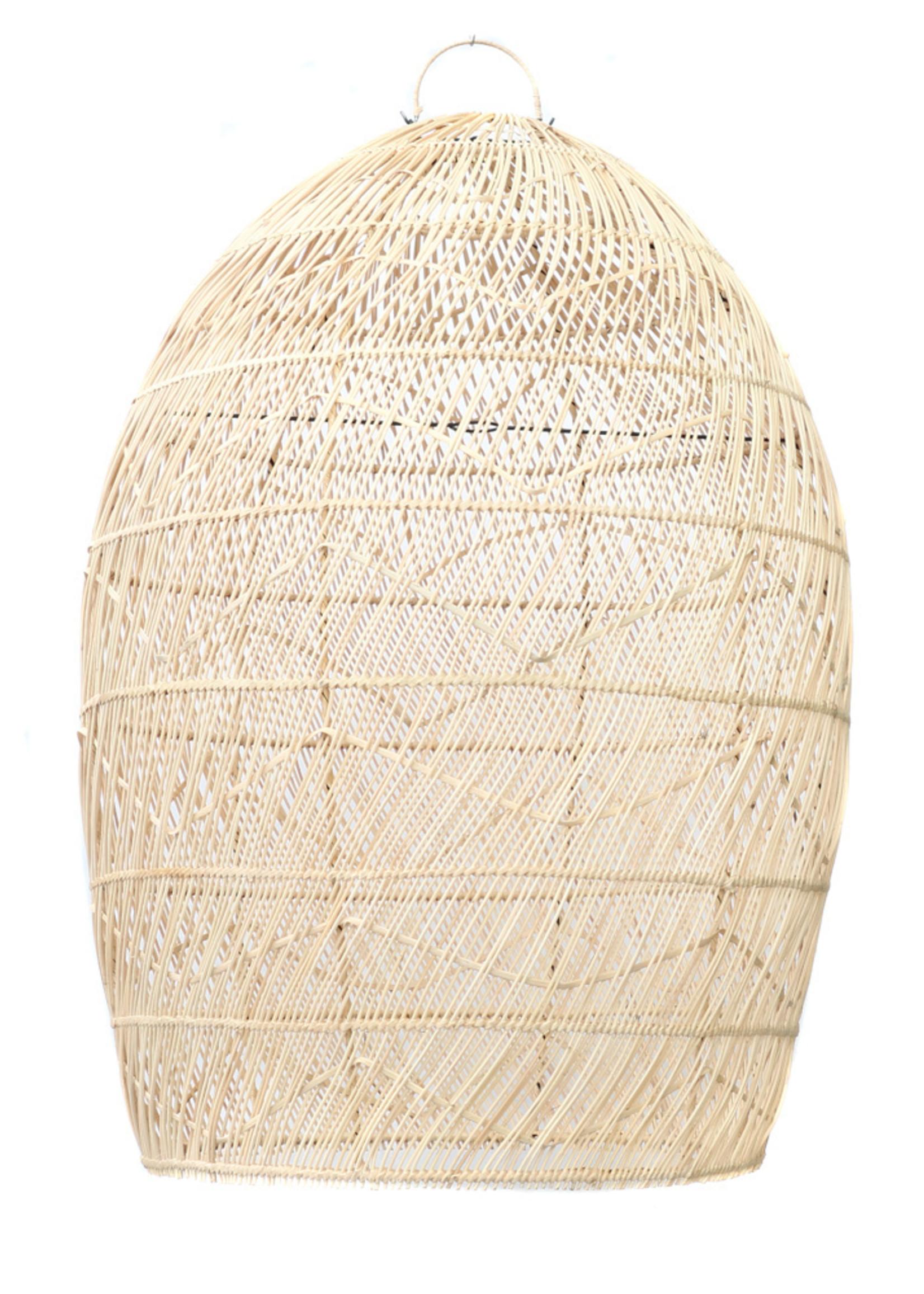 The Rattan Twister Pendant - Natural - 70x150