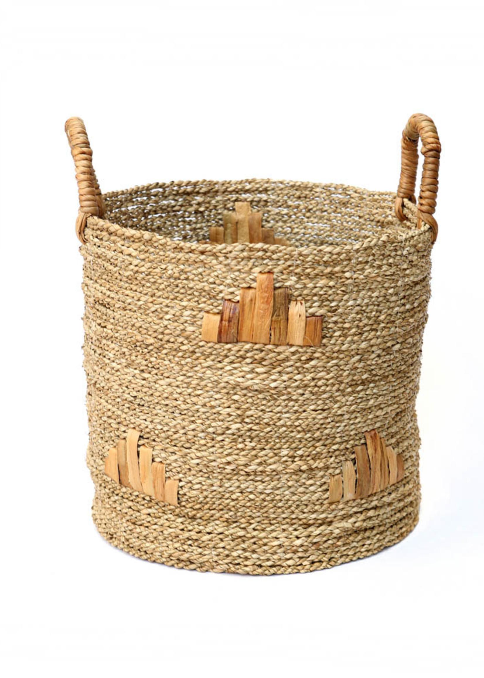 The Twiggy Graphic Baskets - Medium