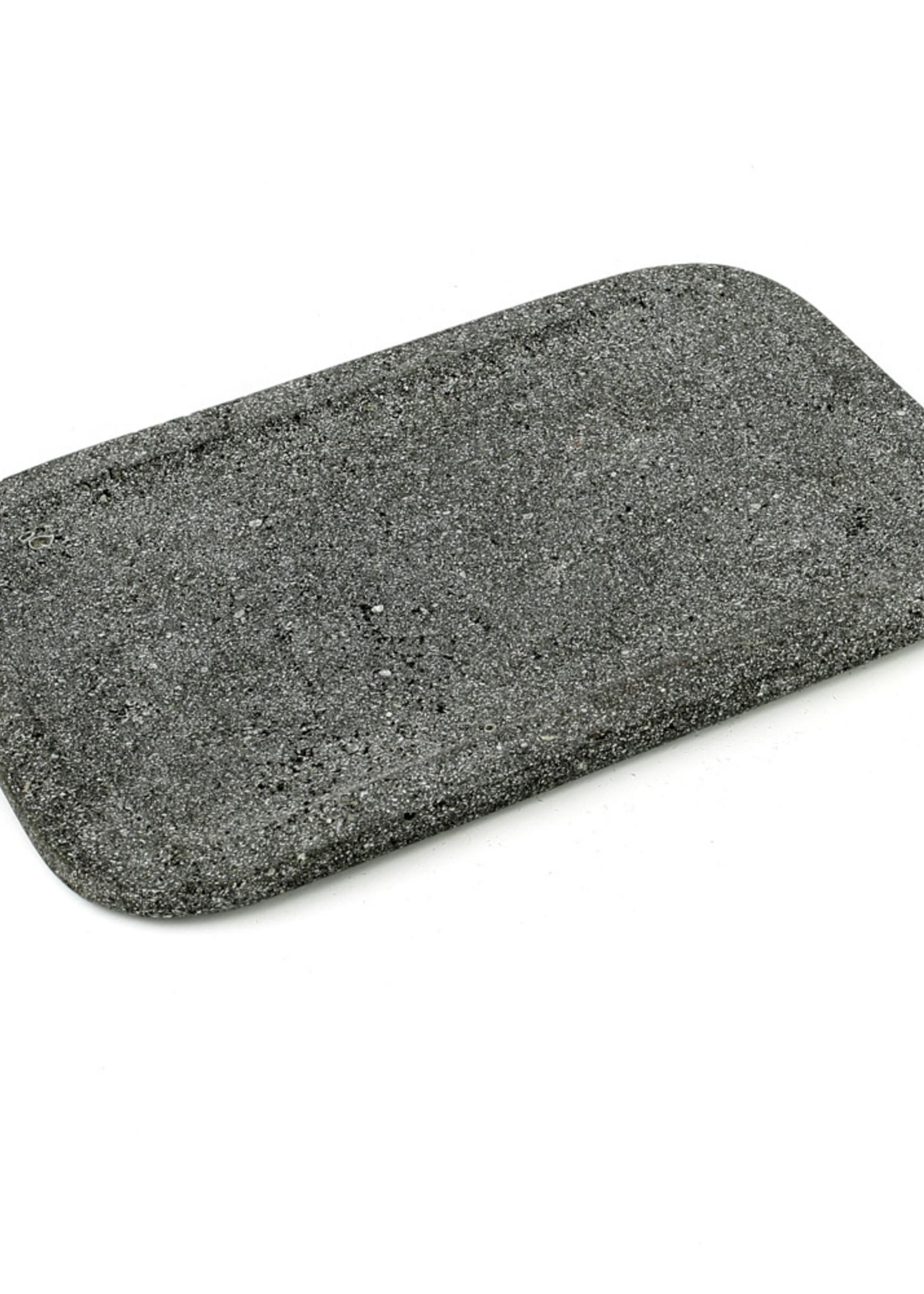 The Lava Stone Tray - Black - 32x20