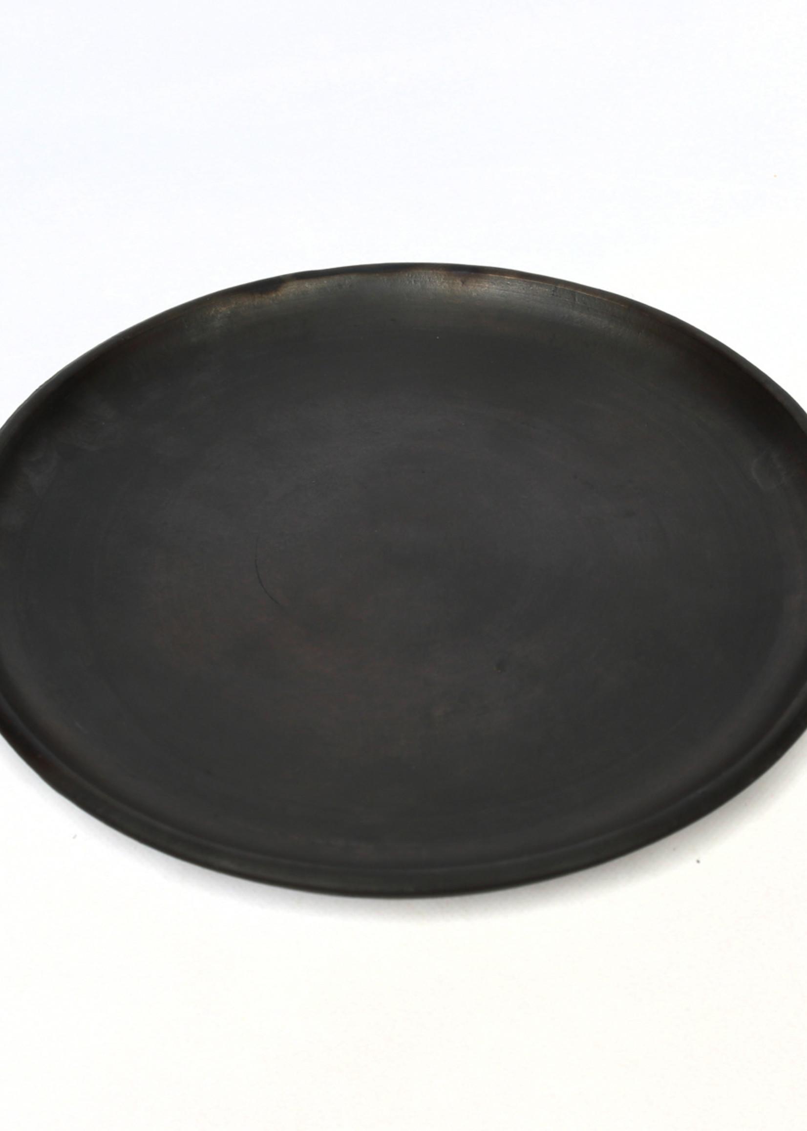 The Burned Classic Plate - Black - L