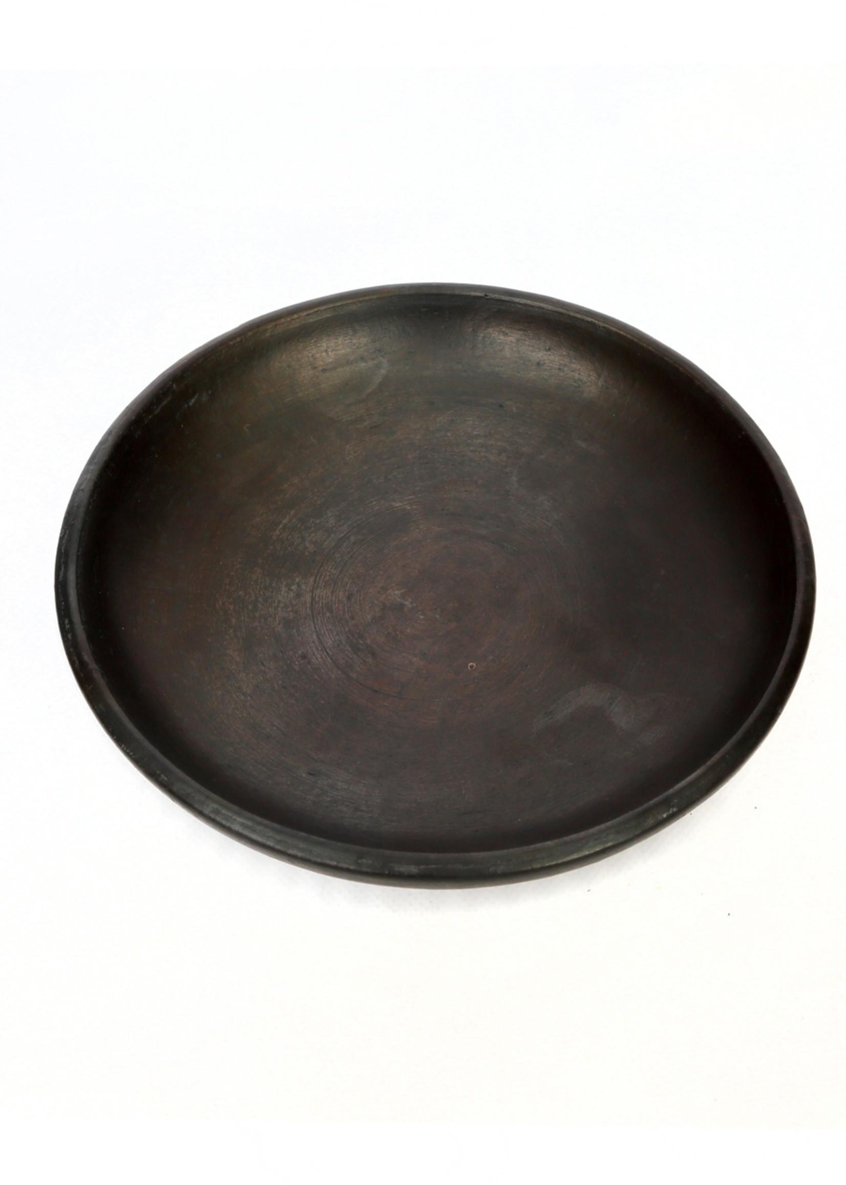 The Burned Classic Plate - Black - M