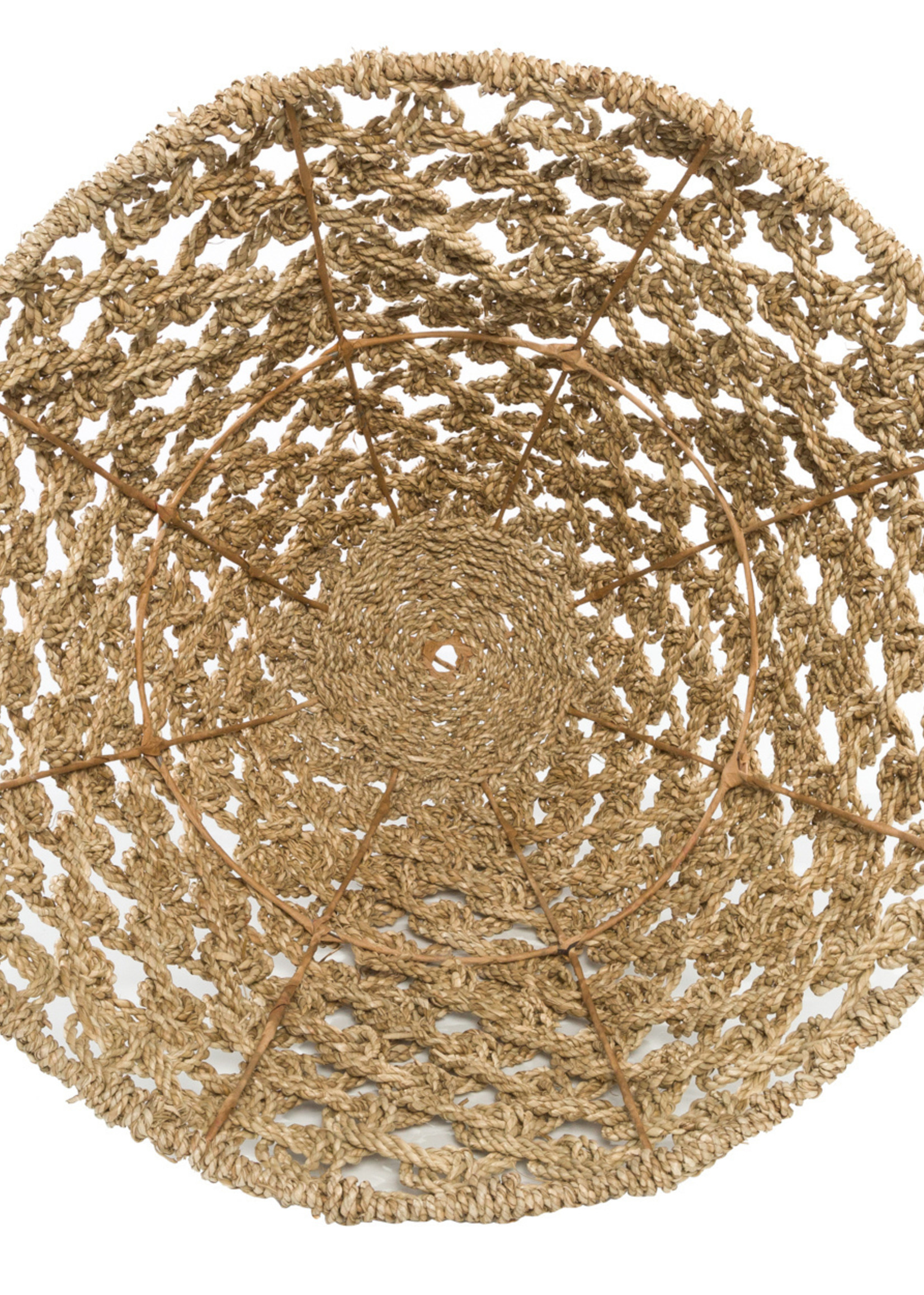 The Seagrass Pendant - Natural - Large
