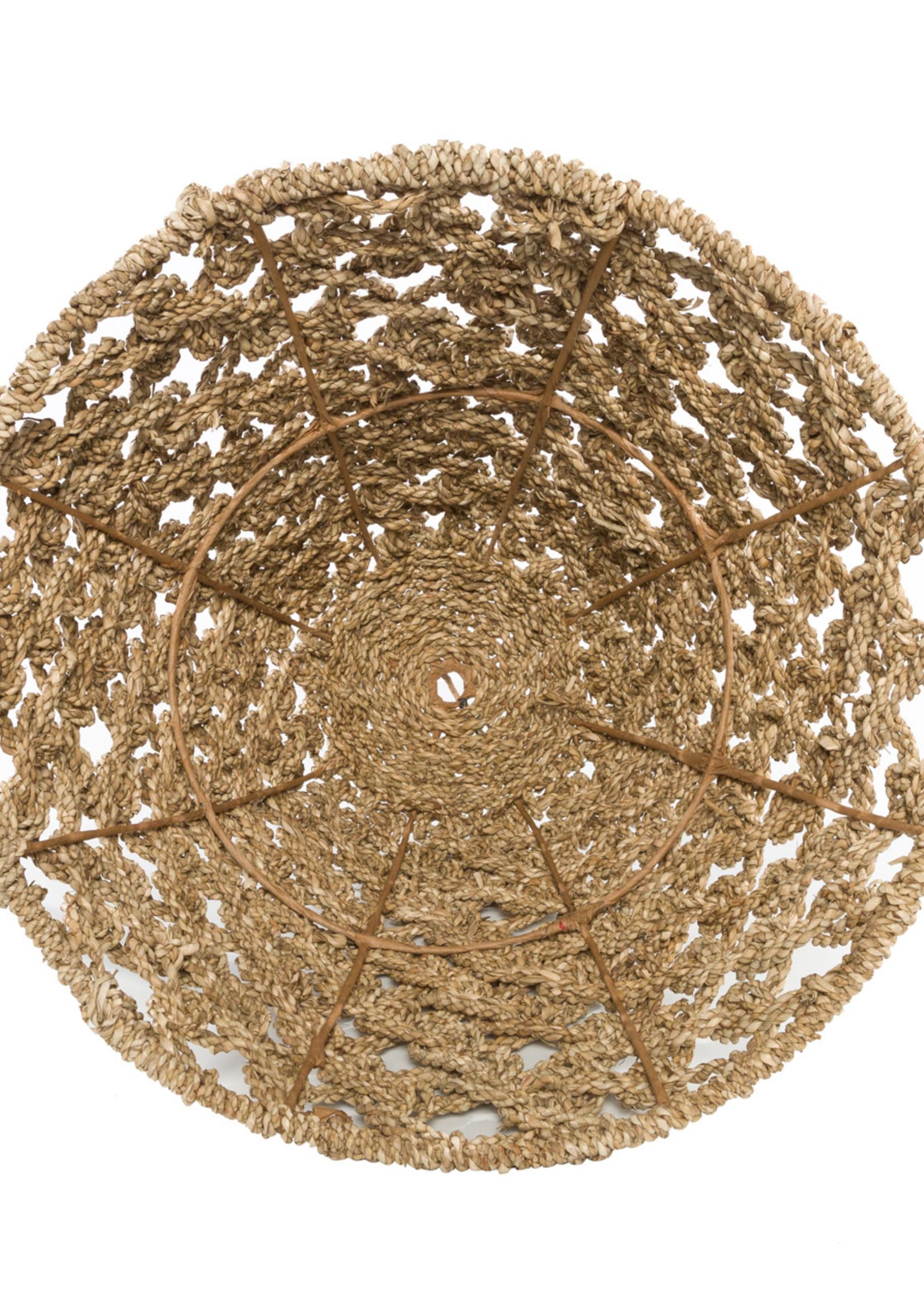 The Seagrass Pendant - Natural - Medium