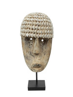 The Cowrie Mask on Stand