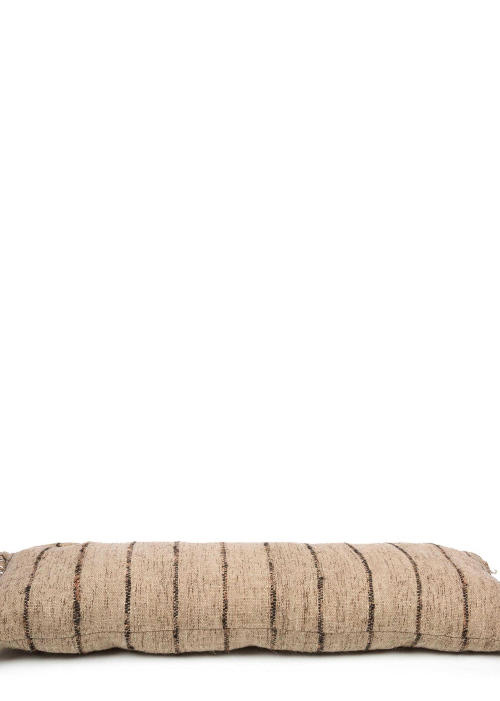 The Oh My Gee Cushion - Beige Black