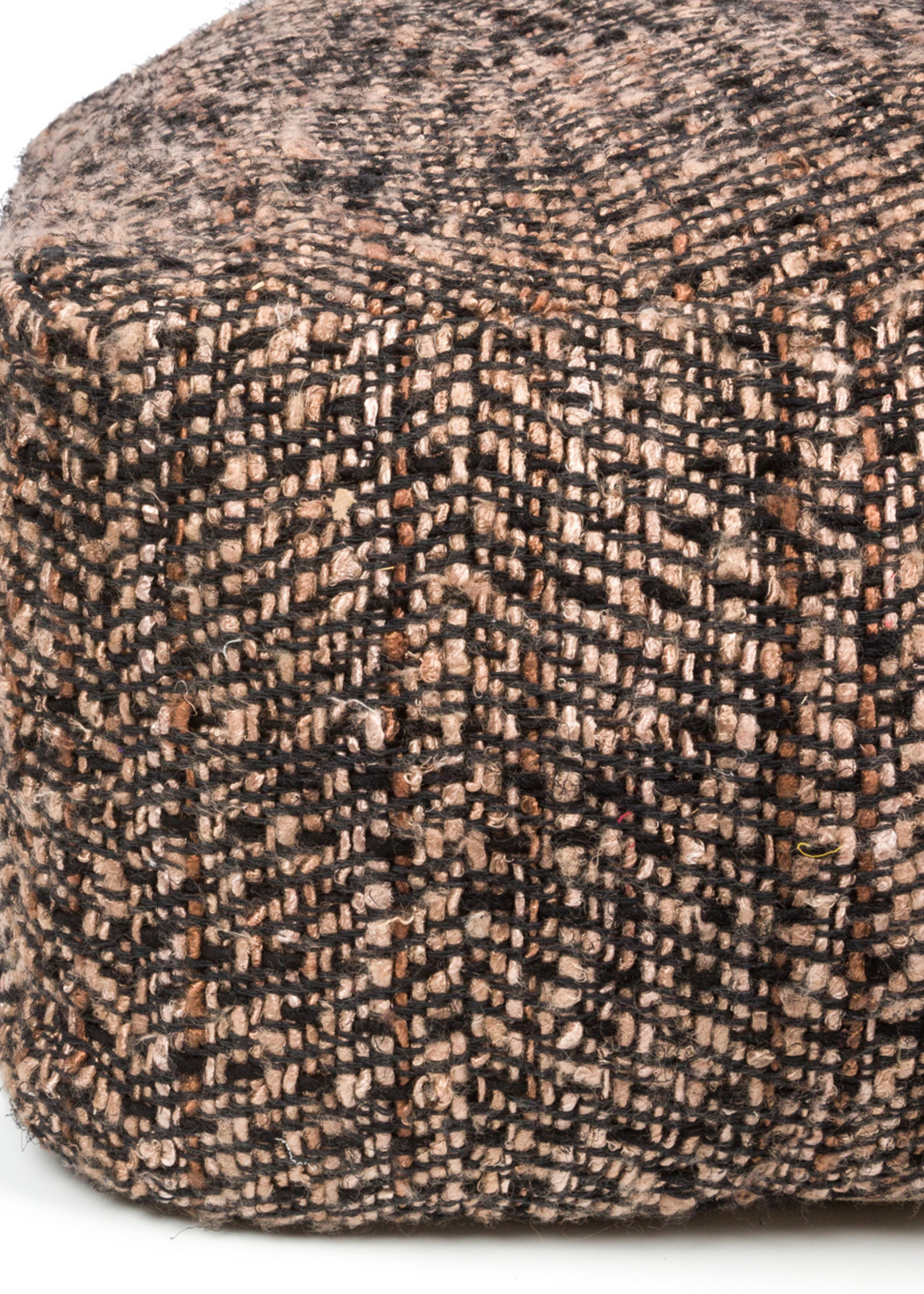 The Oh My Gee Pouffe - Black Copper