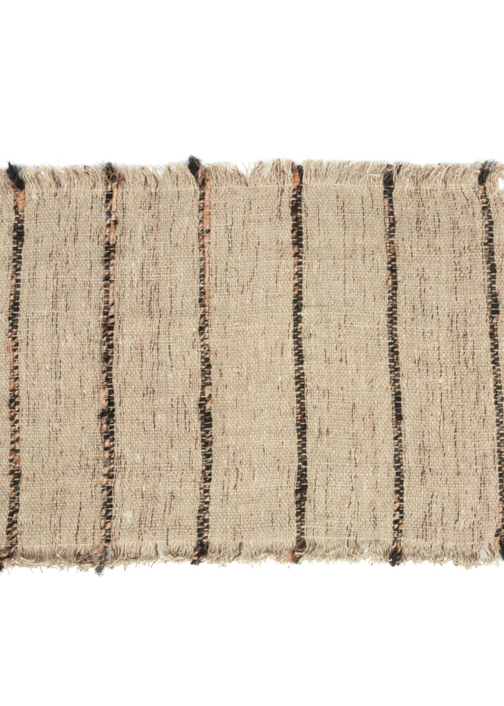 The Oh My Gee Placemat - Beige Black