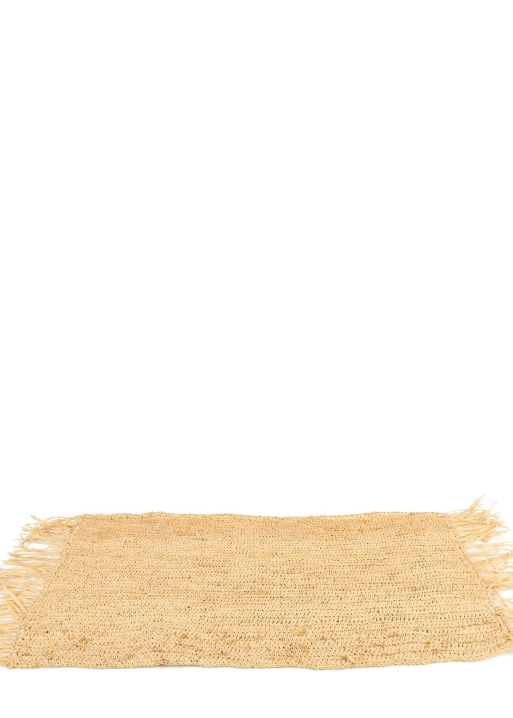 The Raffia Centerpiece  - Rectangular - Natural