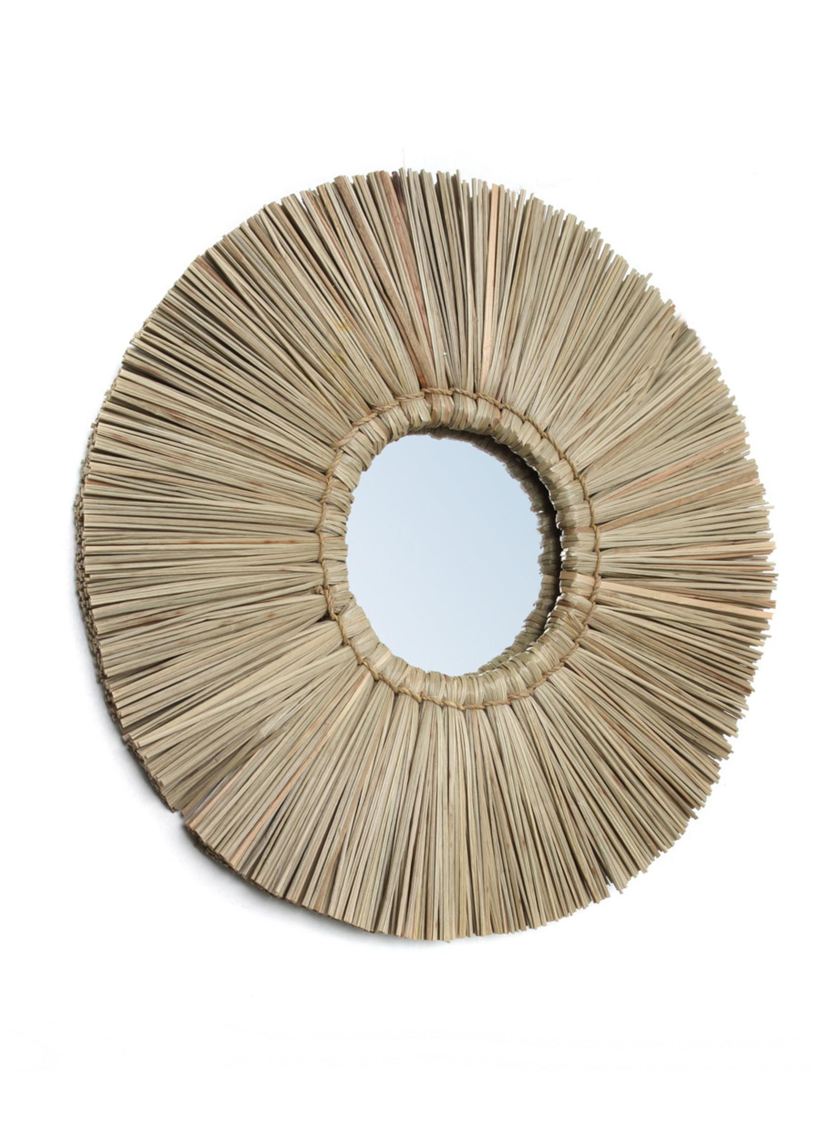 The Alang Alang Mirror - Natural -  S