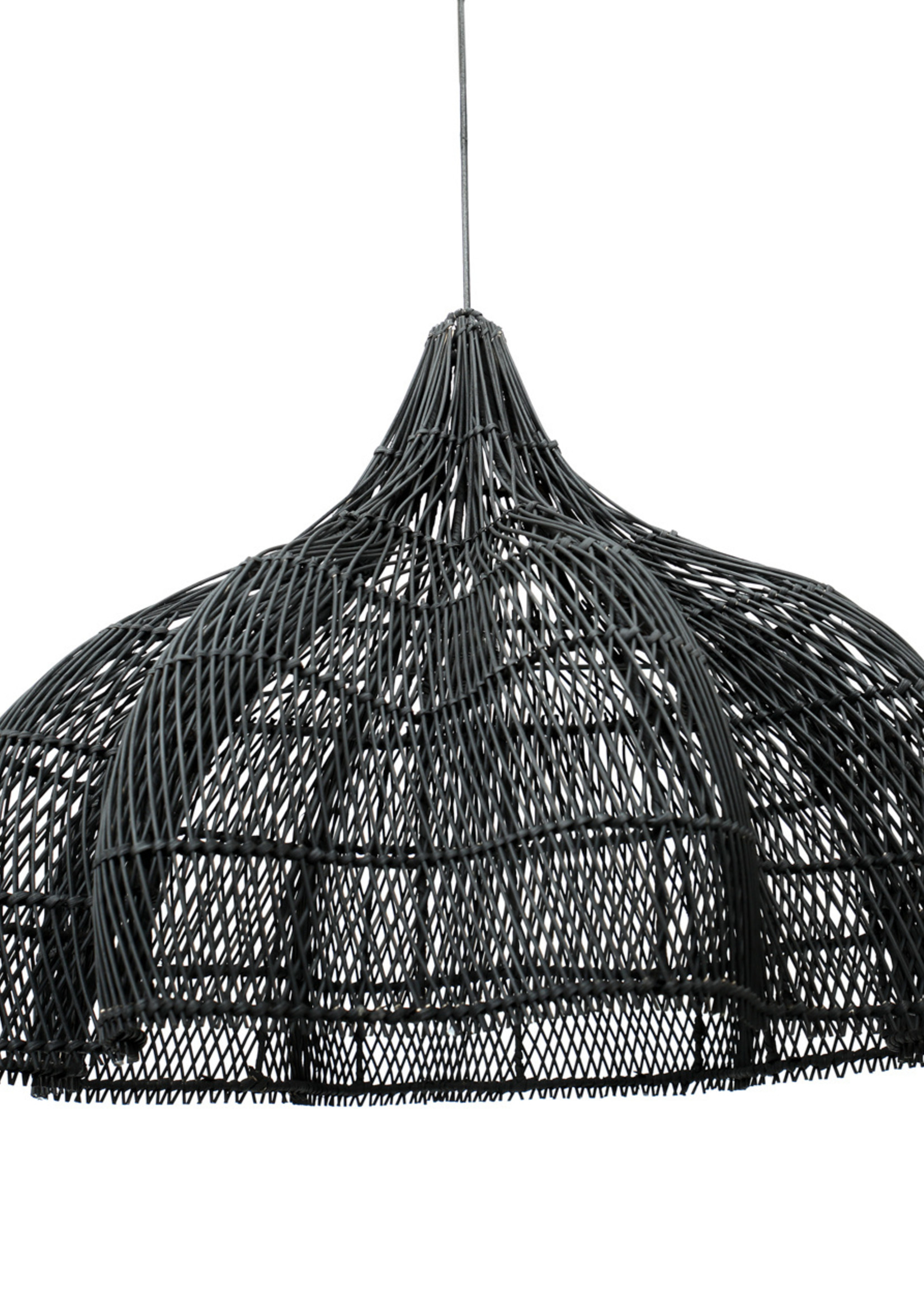 The Whipped Pendant - Black - Large