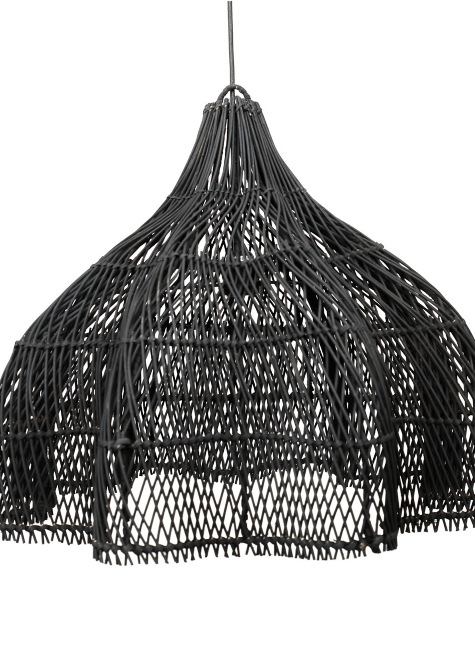 The Whipped Pendant - Black - Medium