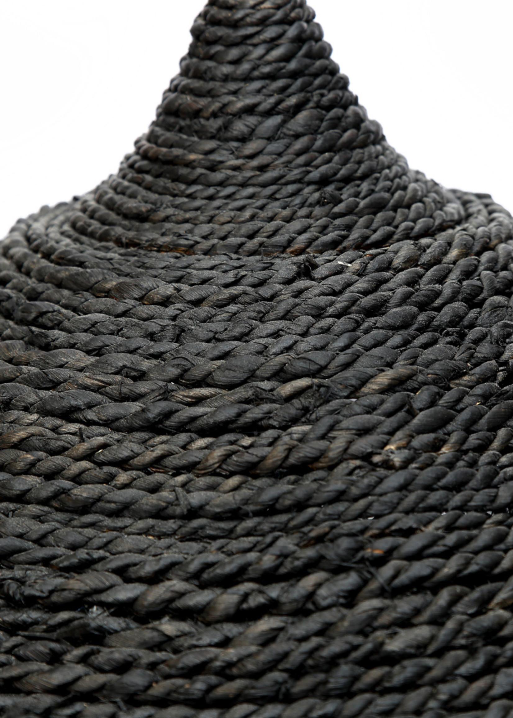 The Abaca Hoola Pendant Lamp - Black - L