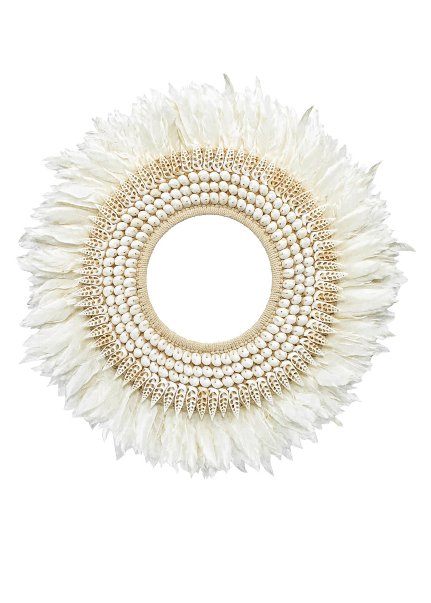 The Hainan Feather Hoop - Large